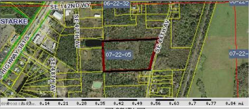 0 44TH, STARKE, FLORIDA 32091, ,Vacant land,For sale,44TH,1066140