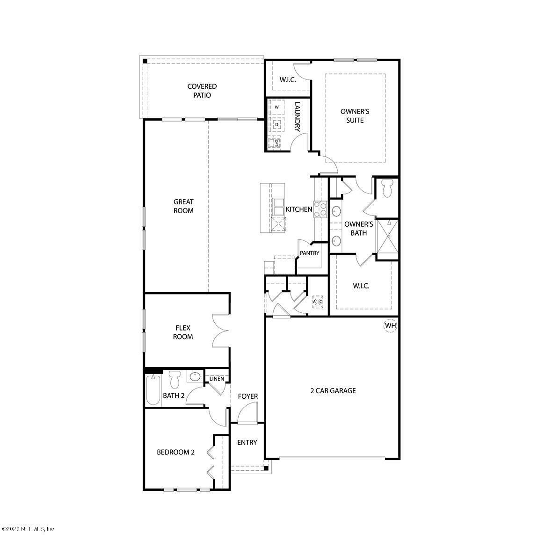 54 OSPREY LANDING, ST AUGUSTINE, FLORIDA 32092, 3 Bedrooms Bedrooms, ,2 BathroomsBathrooms,Residential,For sale,OSPREY LANDING,1066910