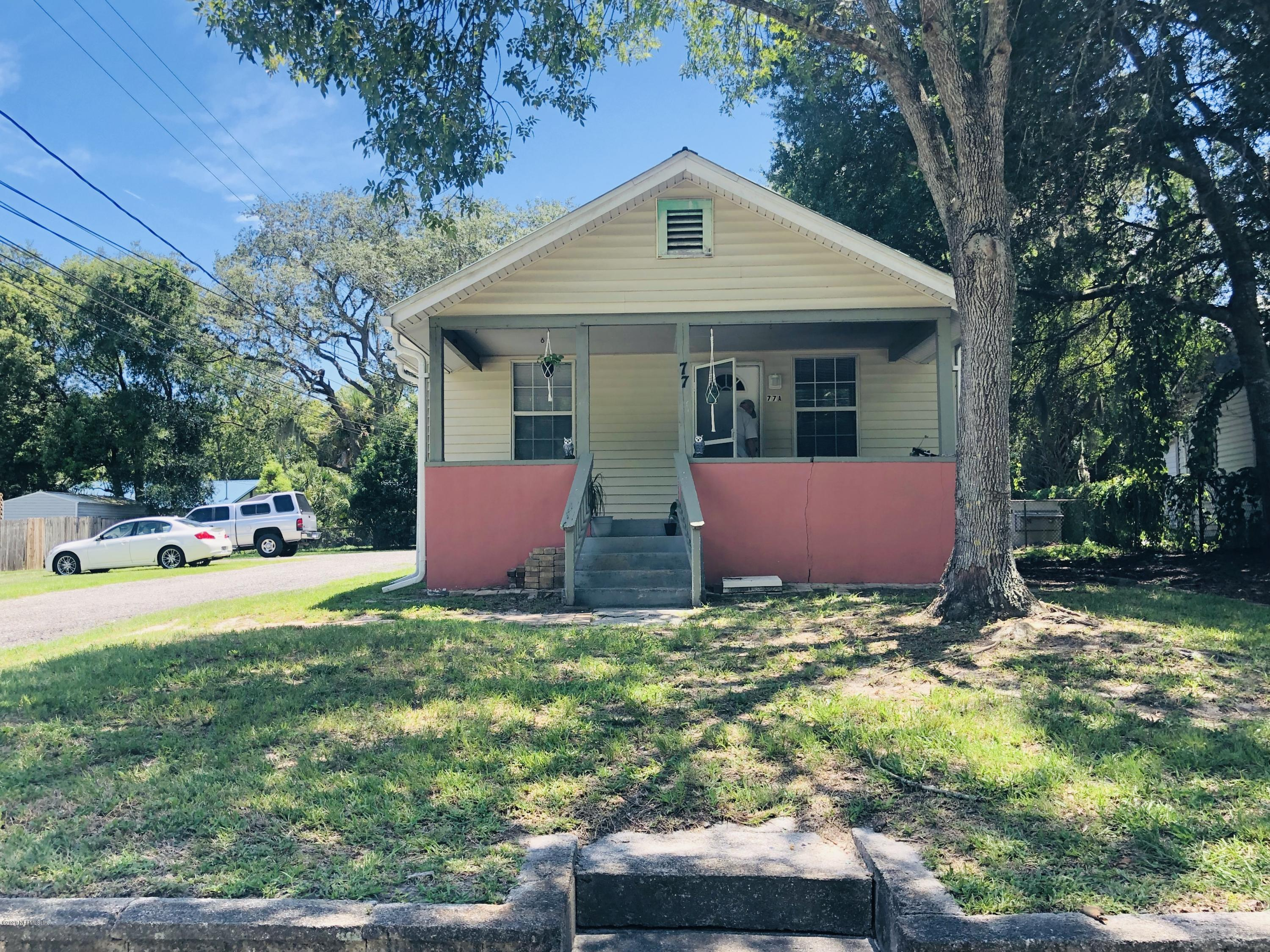 77 ANDERSON, ST AUGUSTINE, FLORIDA 32084, 5 Bedrooms Bedrooms, ,3 BathroomsBathrooms,Investment / MultiFamily,For sale,ANDERSON,1067093