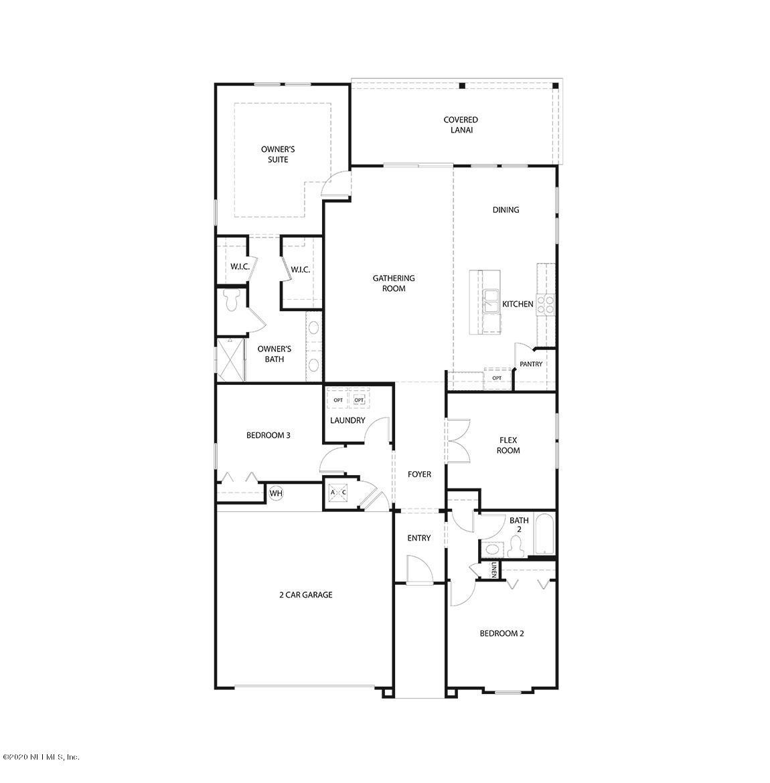 146 OSPREY LANDING, ST AUGUSTINE, FLORIDA 32092, 4 Bedrooms Bedrooms, ,2 BathroomsBathrooms,Residential,For sale,OSPREY LANDING,1070055
