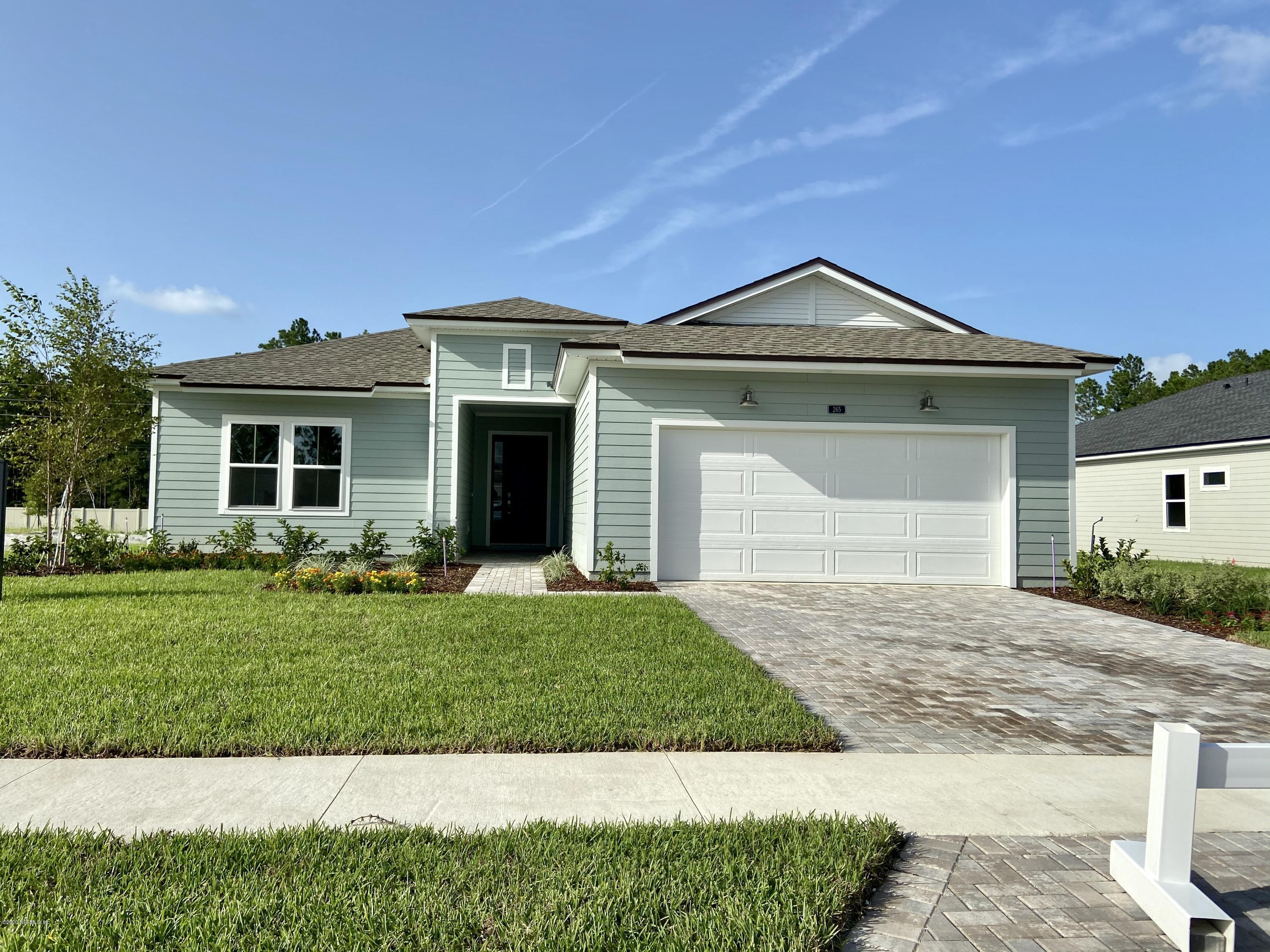 265 MORNING MIST, ST JOHNS, FLORIDA 32259, 4 Bedrooms Bedrooms, ,2 BathroomsBathrooms,Residential,For sale,MORNING MIST,1044042