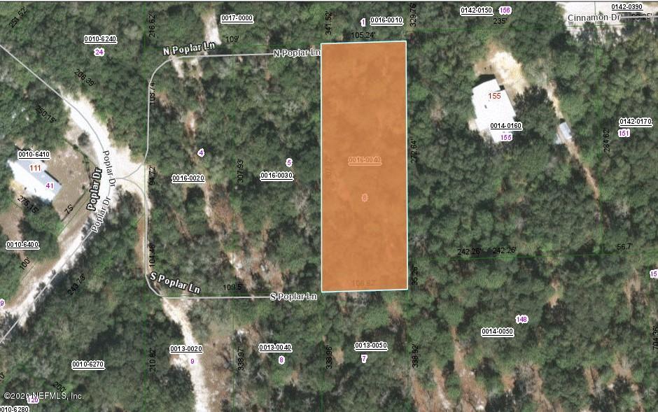 113 POPLAR, INTERLACHEN, FLORIDA 32148, ,Vacant land,For sale,POPLAR,1071418