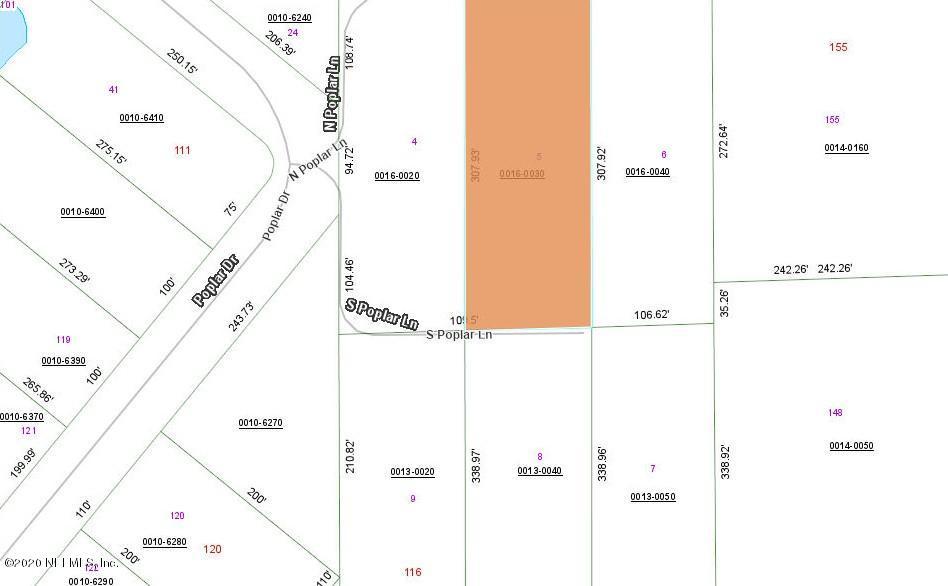 109 POPLAR, INTERLACHEN, FLORIDA 32148, ,Vacant land,For sale,POPLAR,1071424