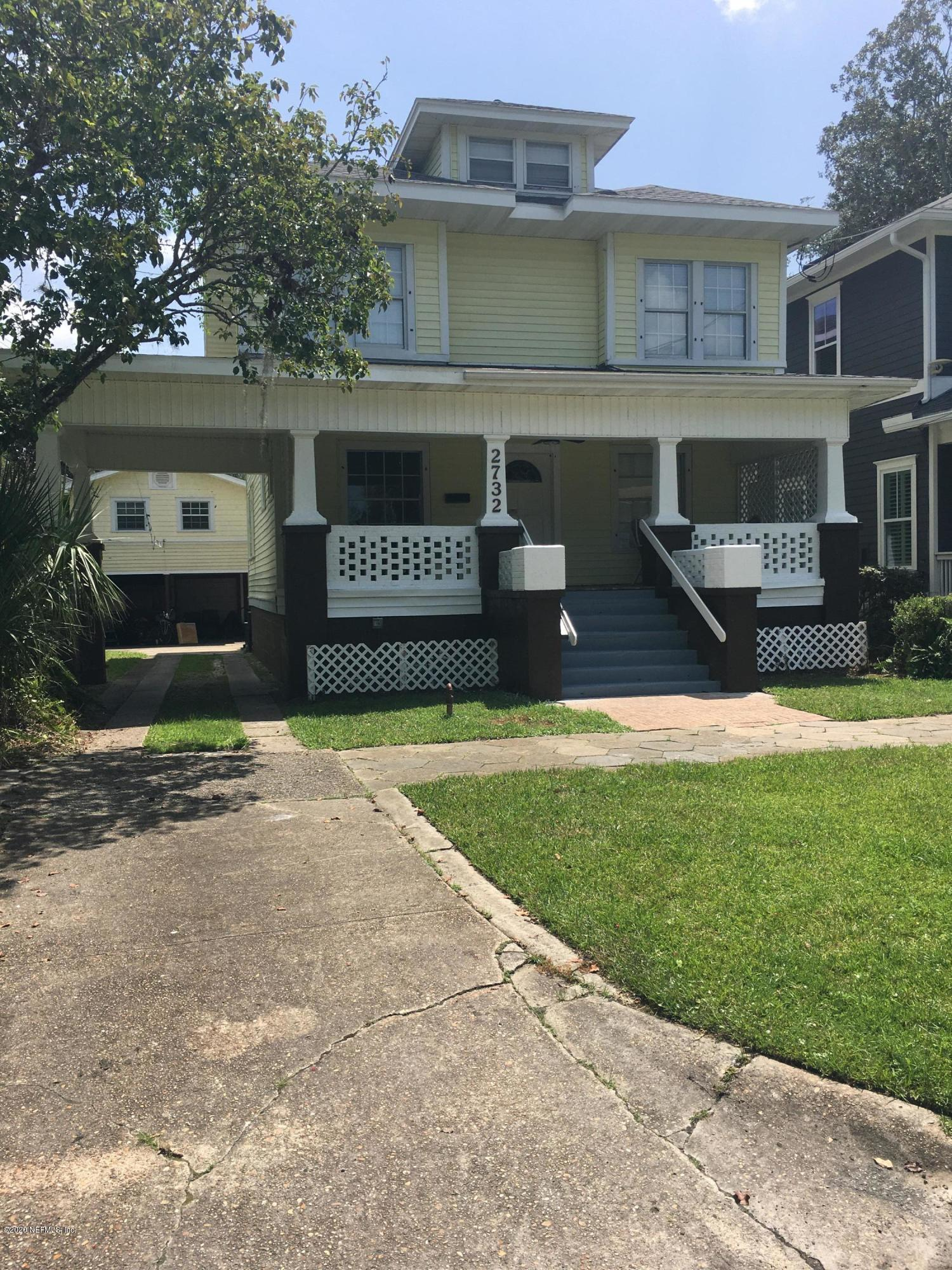 2732 OAK, JACKSONVILLE, FLORIDA 32205, 8 Bedrooms Bedrooms, ,8 BathroomsBathrooms,Investment / MultiFamily,For sale,OAK,1072419