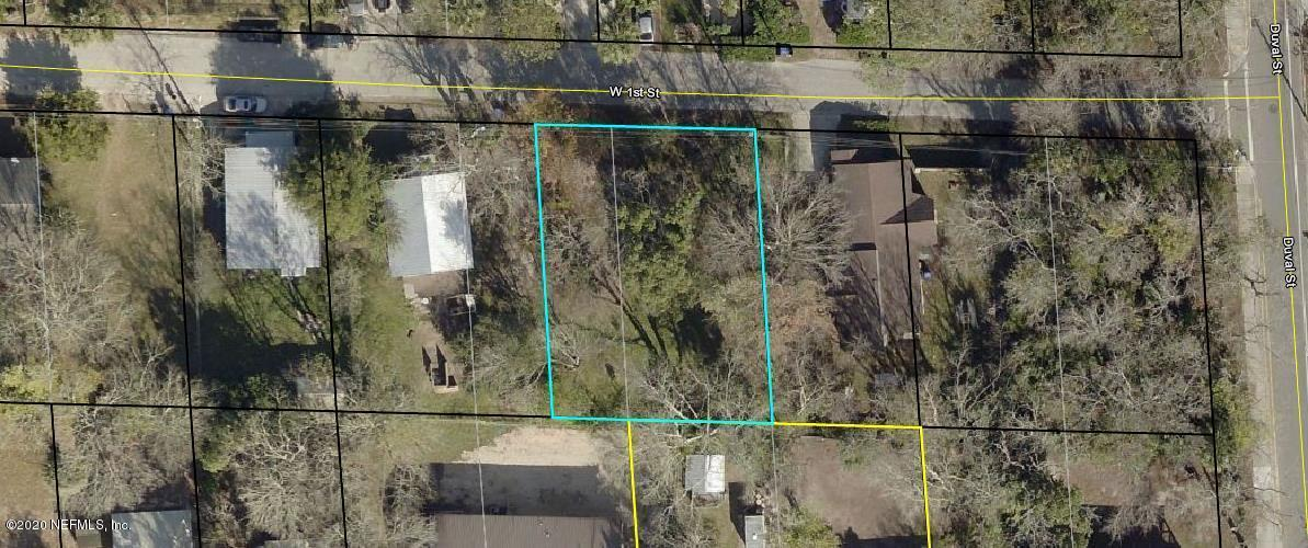 0 1ST, ST AUGUSTINE, FLORIDA 32084, ,Vacant land,For sale,1ST,1073305