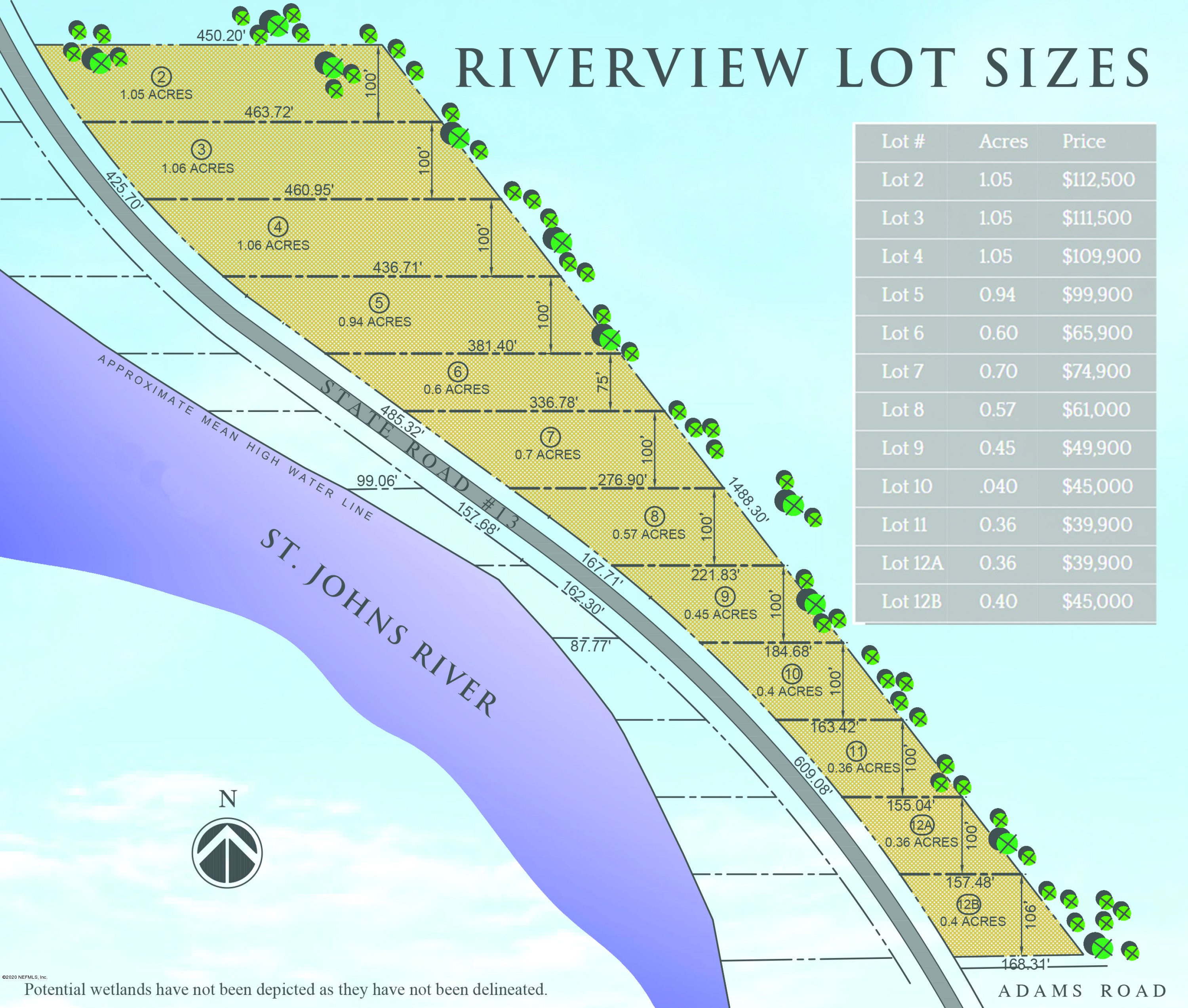350 CR 13, ST AUGUSTINE, FLORIDA 32092, ,Vacant land,For sale,CR 13,1043357