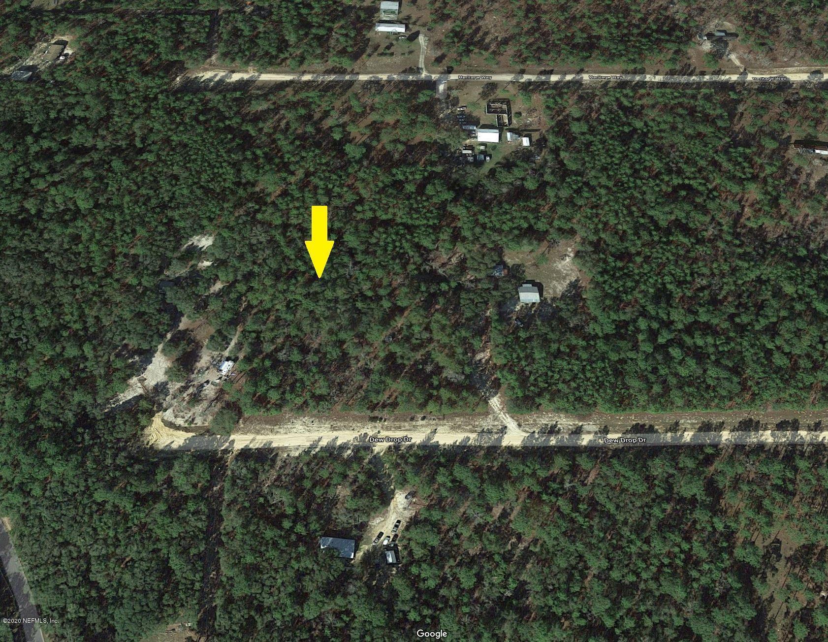 150 DEW DROP, HAWTHORNE, FLORIDA 32640, ,Vacant land,For sale,DEW DROP,1079857