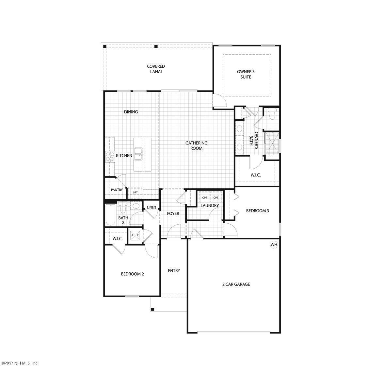 277 OSPREY LANDING, ST AUGUSTINE, FLORIDA 32092, 3 Bedrooms Bedrooms, ,2 BathroomsBathrooms,Residential,For sale,OSPREY LANDING,1079862