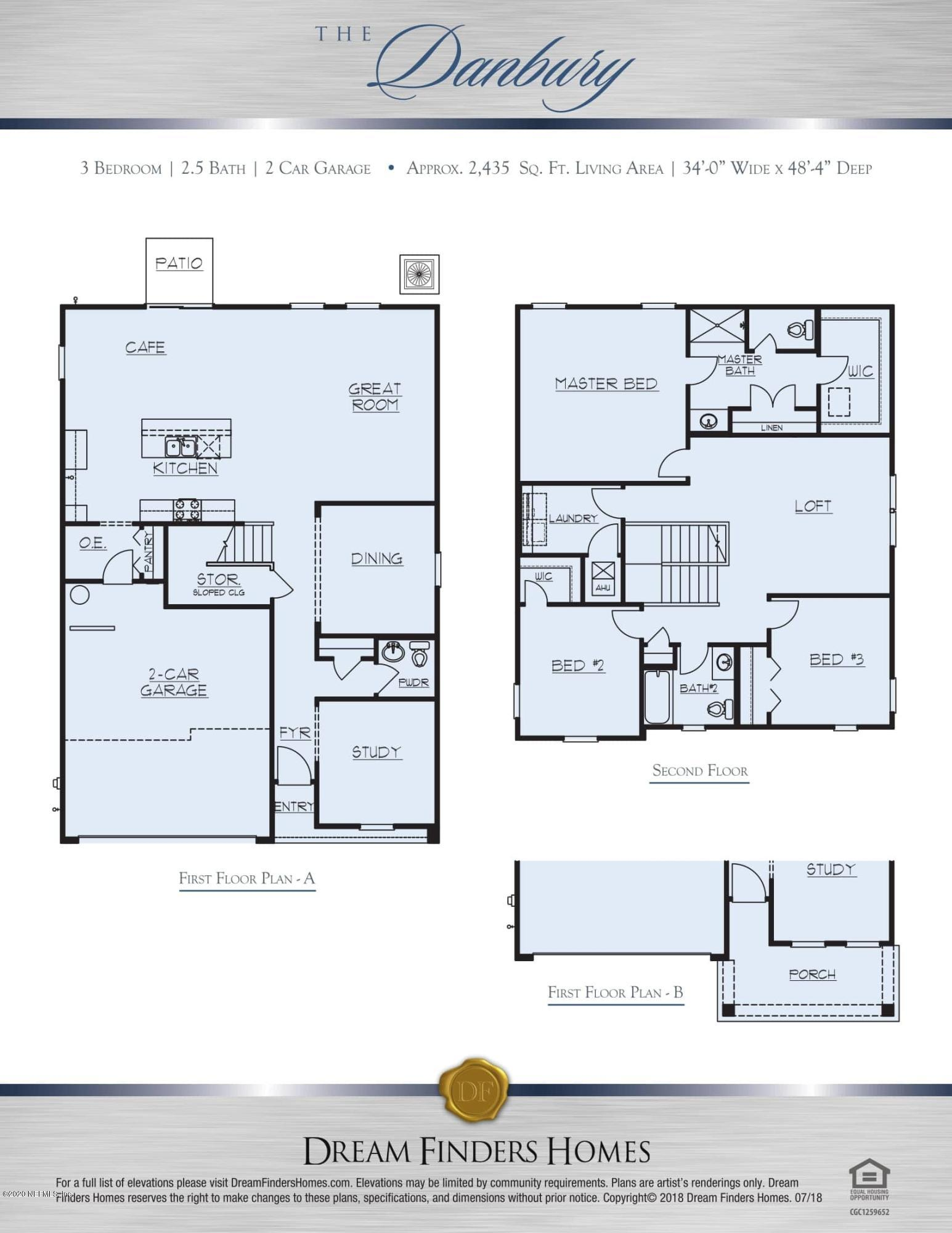 3013 HANGING VALLEY, ORANGE PARK, FLORIDA 32065, 4 Bedrooms Bedrooms, ,2 BathroomsBathrooms,Residential,For sale,HANGING VALLEY,1079912