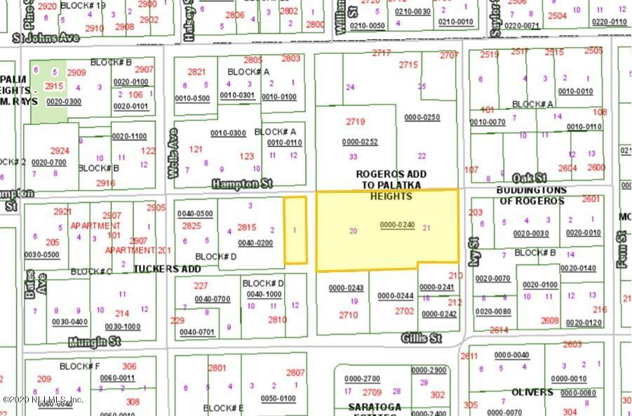 0 IVY, PALATKA, FLORIDA 32177, ,Vacant land,For sale,IVY,1079915