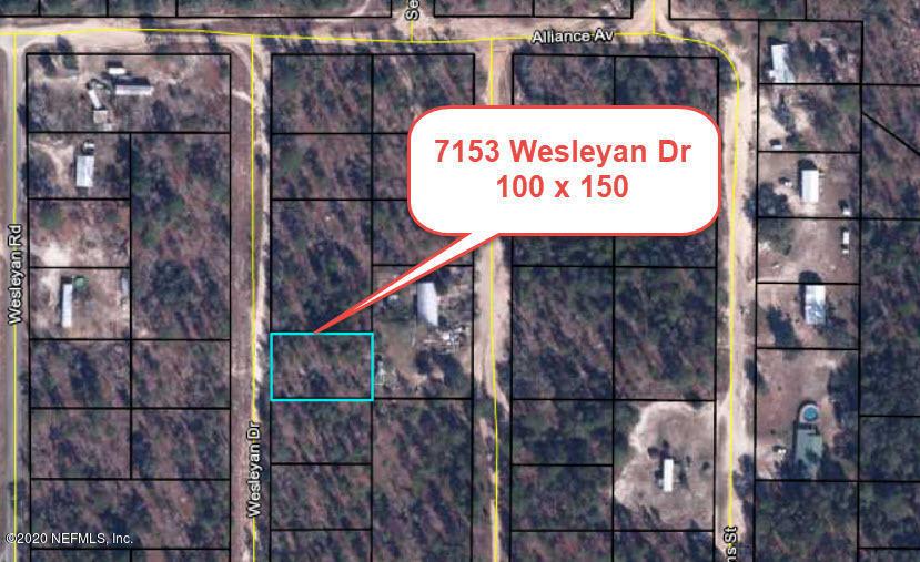 7153 WESLEYAN, KEYSTONE HEIGHTS, FLORIDA 32656, ,Vacant land,For sale,WESLEYAN,1080008