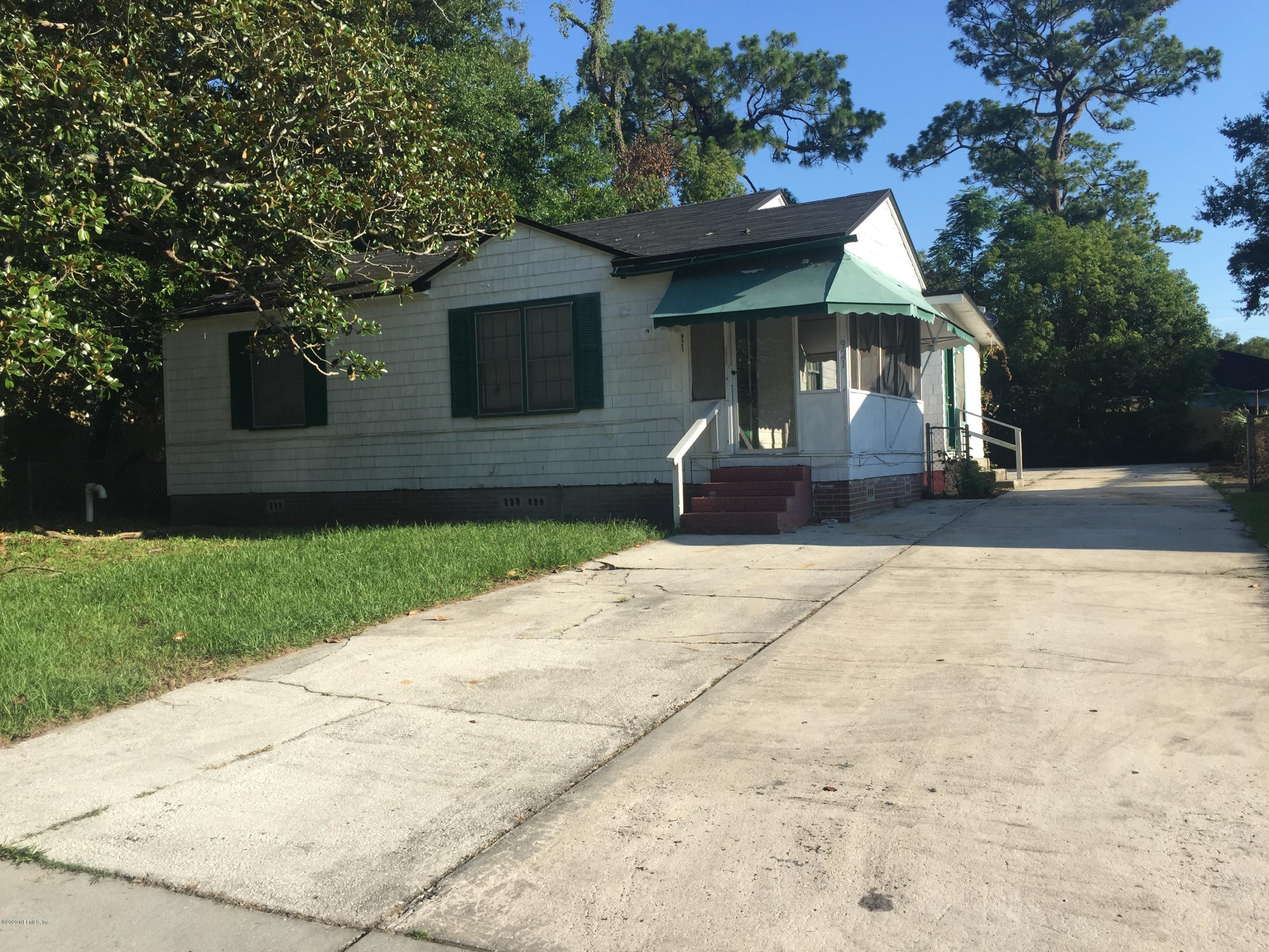 921 ETHAN ALLEN, JACKSONVILLE, FLORIDA 32208, 3 Bedrooms Bedrooms, ,1 BathroomBathrooms,Investment / MultiFamily,For sale,ETHAN ALLEN,1080526