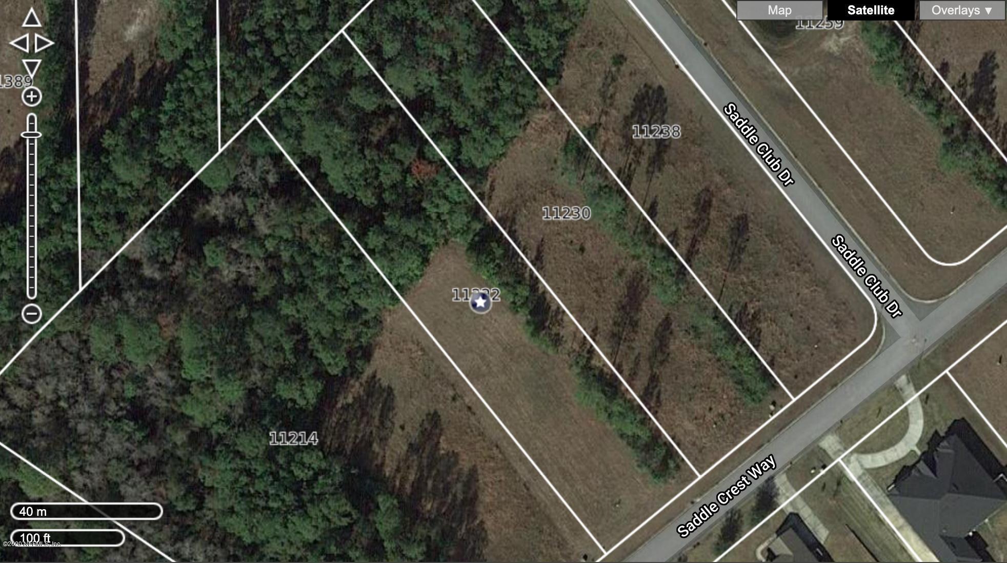 11222 SADDLE CREST, JACKSONVILLE, FLORIDA 32219, ,Vacant land,For sale,SADDLE CREST,1080382