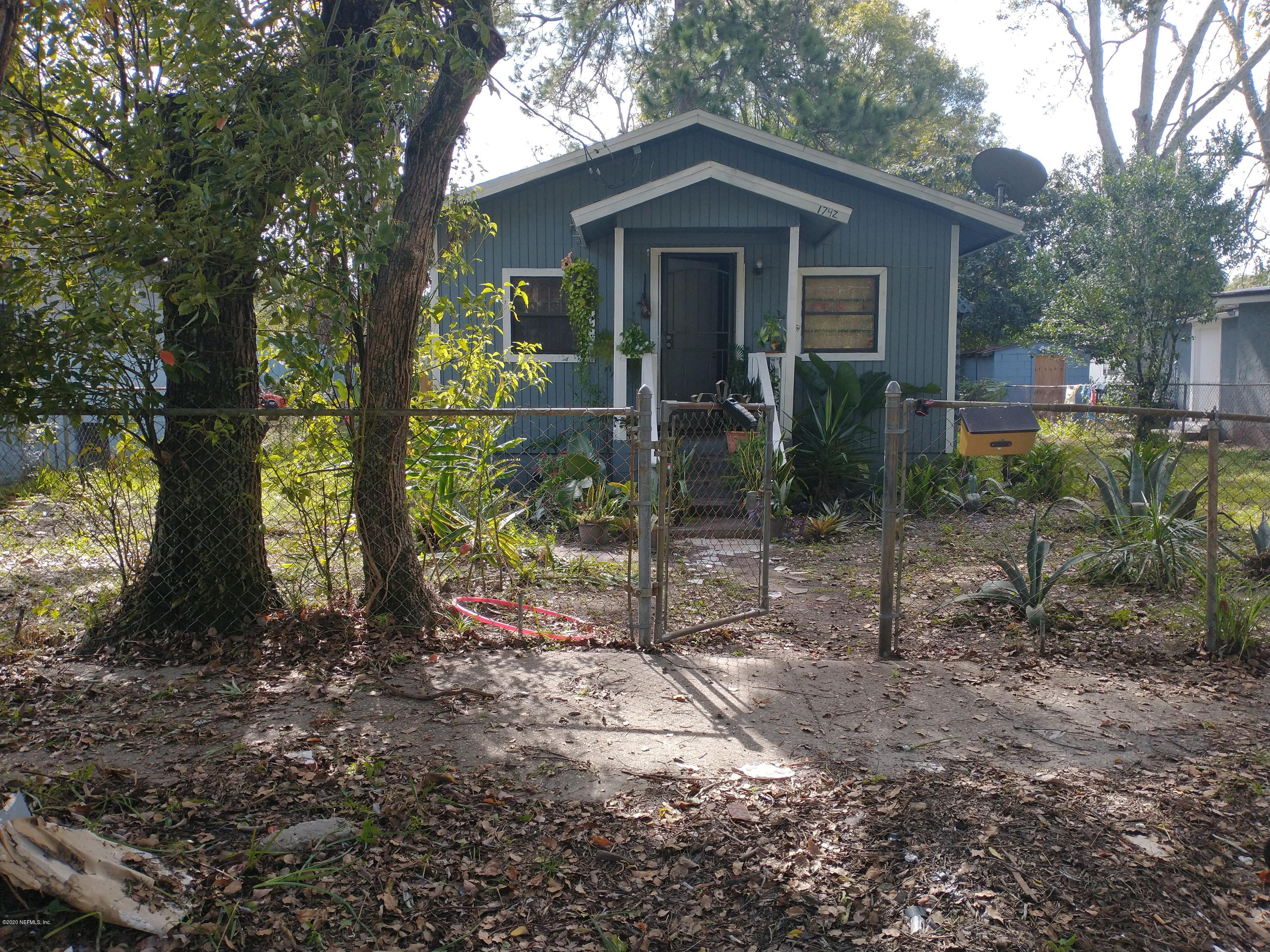 1742 2ND, JACKSONVILLE, FLORIDA 32209, 2 Bedrooms Bedrooms, ,1 BathroomBathrooms,Investment / MultiFamily,For sale,2ND,1080513