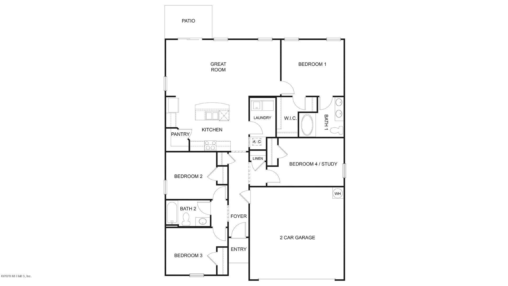 6427 BUCKING BRONCO, JACKSONVILLE, FLORIDA 32234, 4 Bedrooms Bedrooms, ,2 BathroomsBathrooms,Residential,For sale,BUCKING BRONCO,1080533