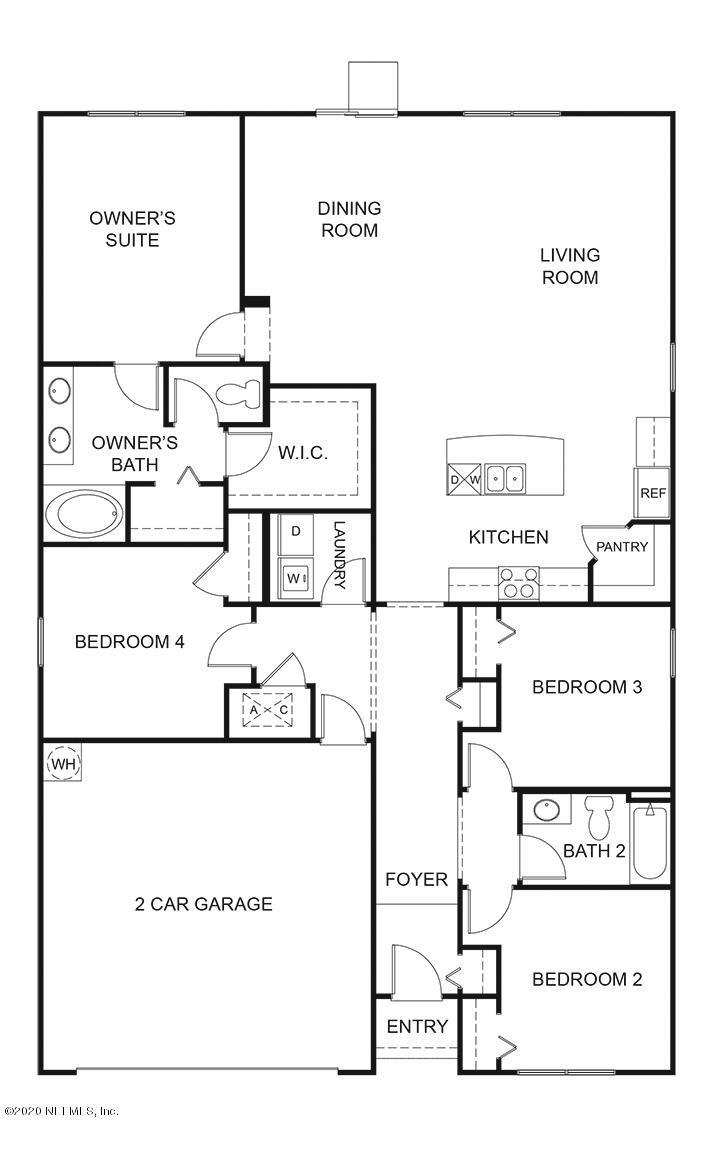 6426 BUCKING BRONCO, JACKSONVILLE, FLORIDA 32234, 4 Bedrooms Bedrooms, ,2 BathroomsBathrooms,Residential,For sale,BUCKING BRONCO,1080538