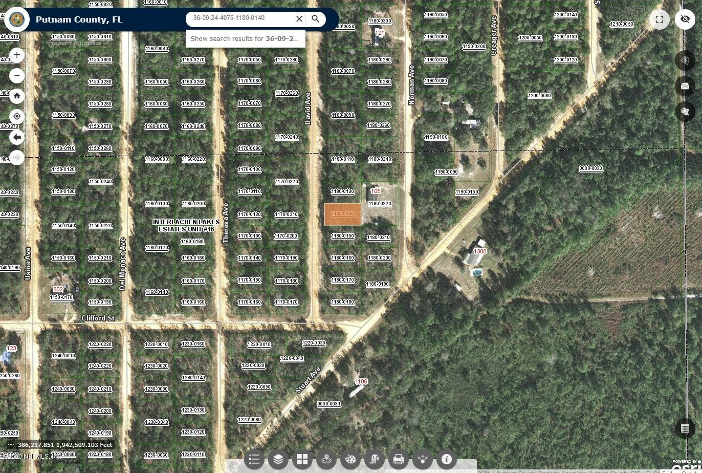 108 DAVID, INTERLACHEN, FLORIDA 32148, ,Vacant land,For sale,DAVID,1080694
