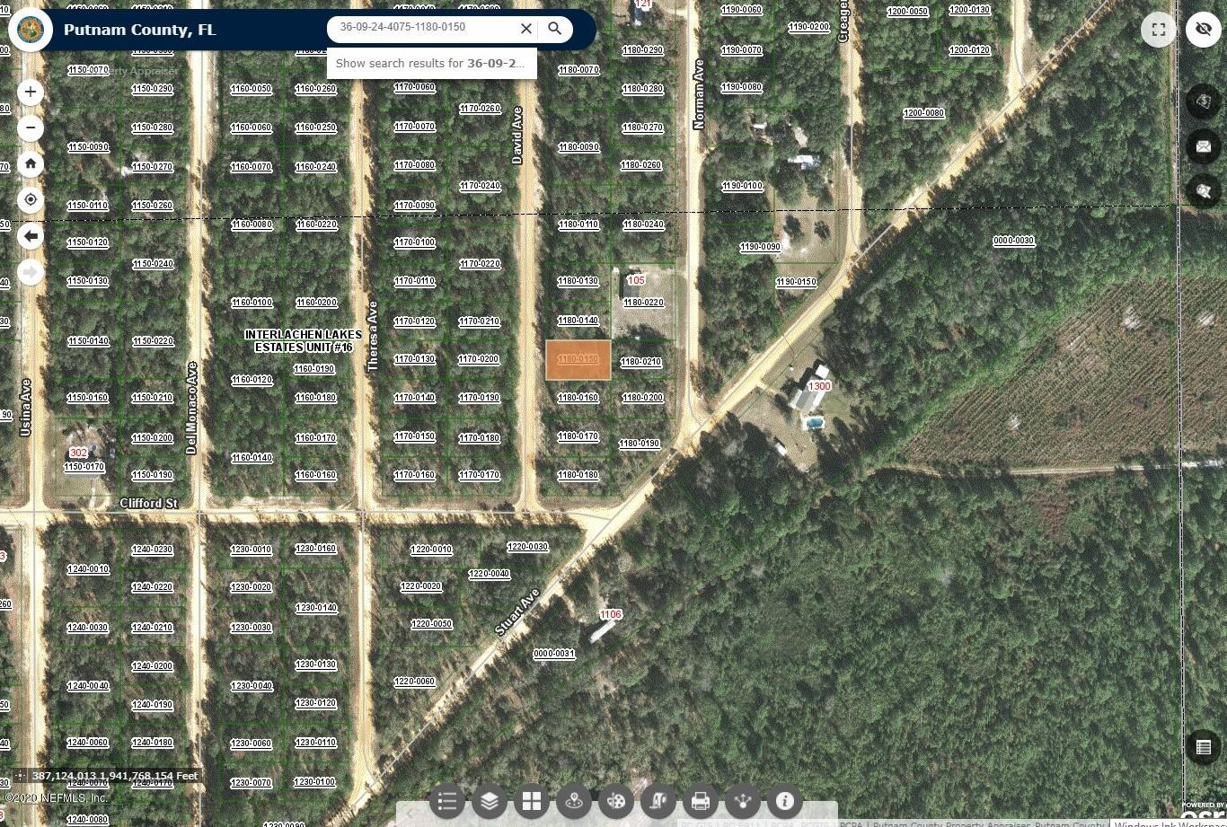 0000 DAVID, INTERLACHEN, FLORIDA 32148, ,Vacant land,For sale,DAVID,1080699