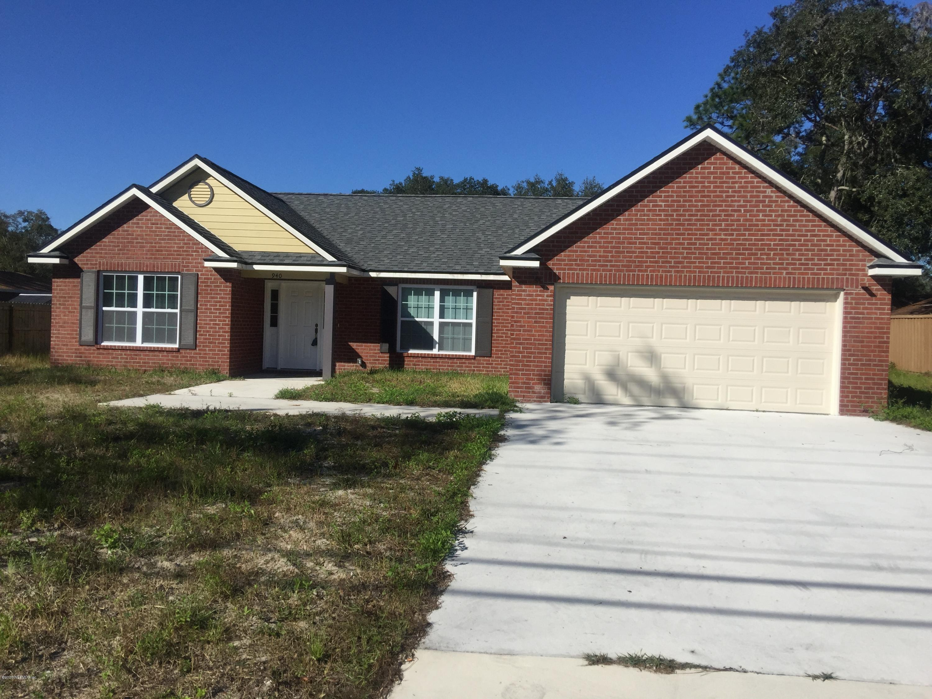 940 STATE RD 13, FRUIT COVE, FLORIDA 32259, 3 Bedrooms Bedrooms, ,2 BathroomsBathrooms,Rental,For Rent,STATE RD 13,1081023