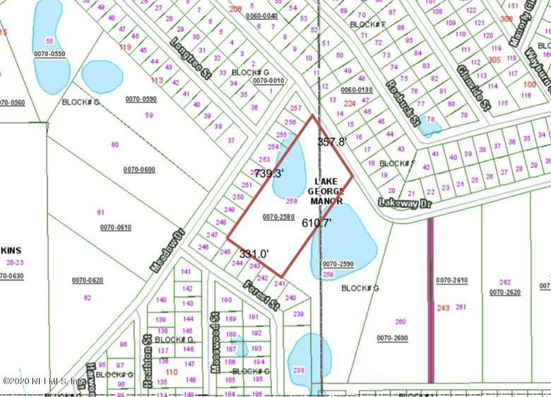 225 LAKEWAY, GEORGETOWN, FLORIDA 32139, ,Vacant land,For sale,LAKEWAY,1081618