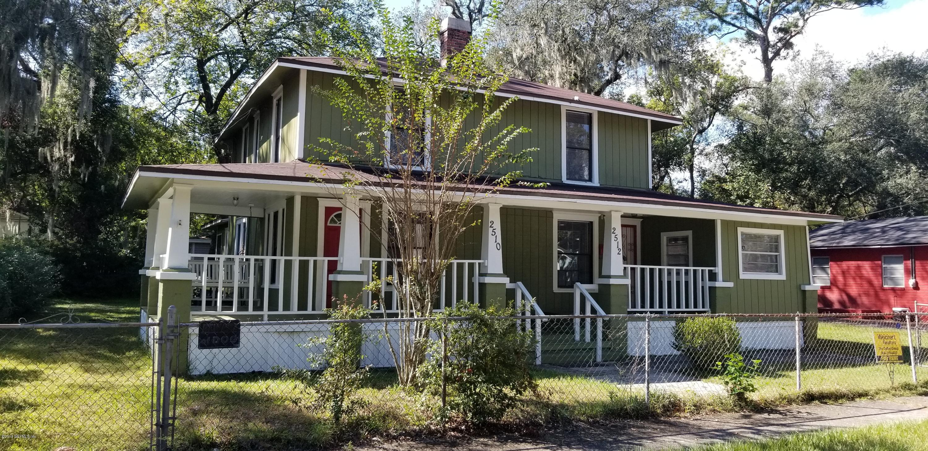 2510 SUMMIT, JACKSONVILLE, FLORIDA 32204, 2 Bedrooms Bedrooms, ,1 BathroomBathrooms,Rental,For Rent,SUMMIT,1082240