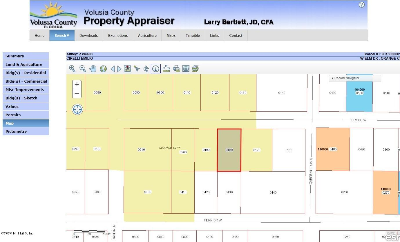 00 ELM, ORANGE CITY, FLORIDA 32763, ,Vacant land,For sale,ELM,1082077