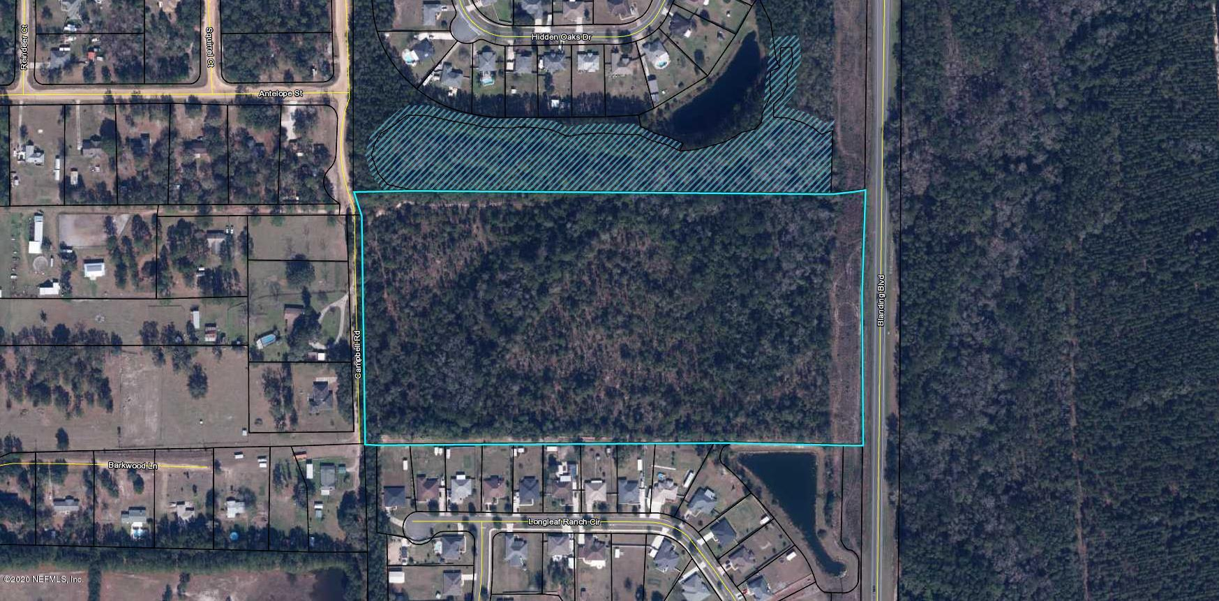 0 CAMPBELL, MIDDLEBURG, FLORIDA 32068, ,Vacant land,For sale,CAMPBELL,1082099
