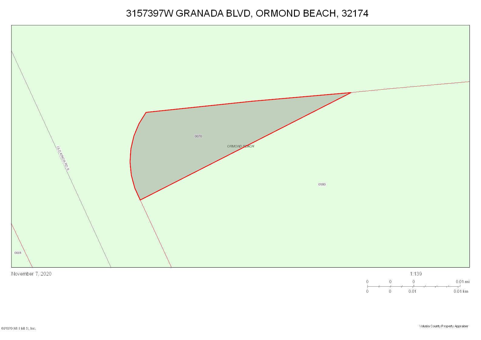 0 GRANADA, ORMOND BEACH, FLORIDA 32174, ,Commercial,For sale,GRANADA,1081848