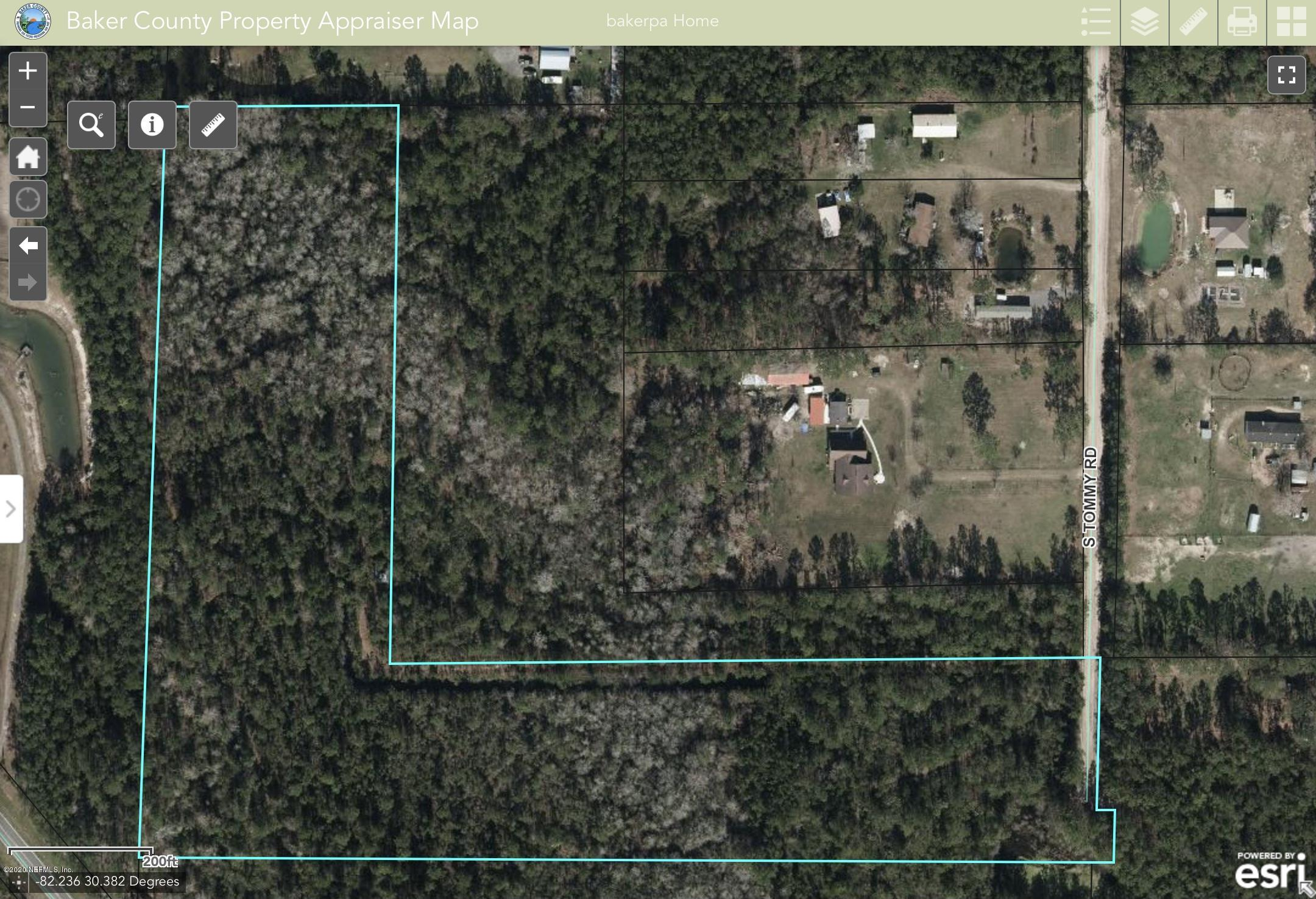 0 TOMMY, SANDERSON, FLORIDA 32087, ,Vacant land,For sale,TOMMY,1081794