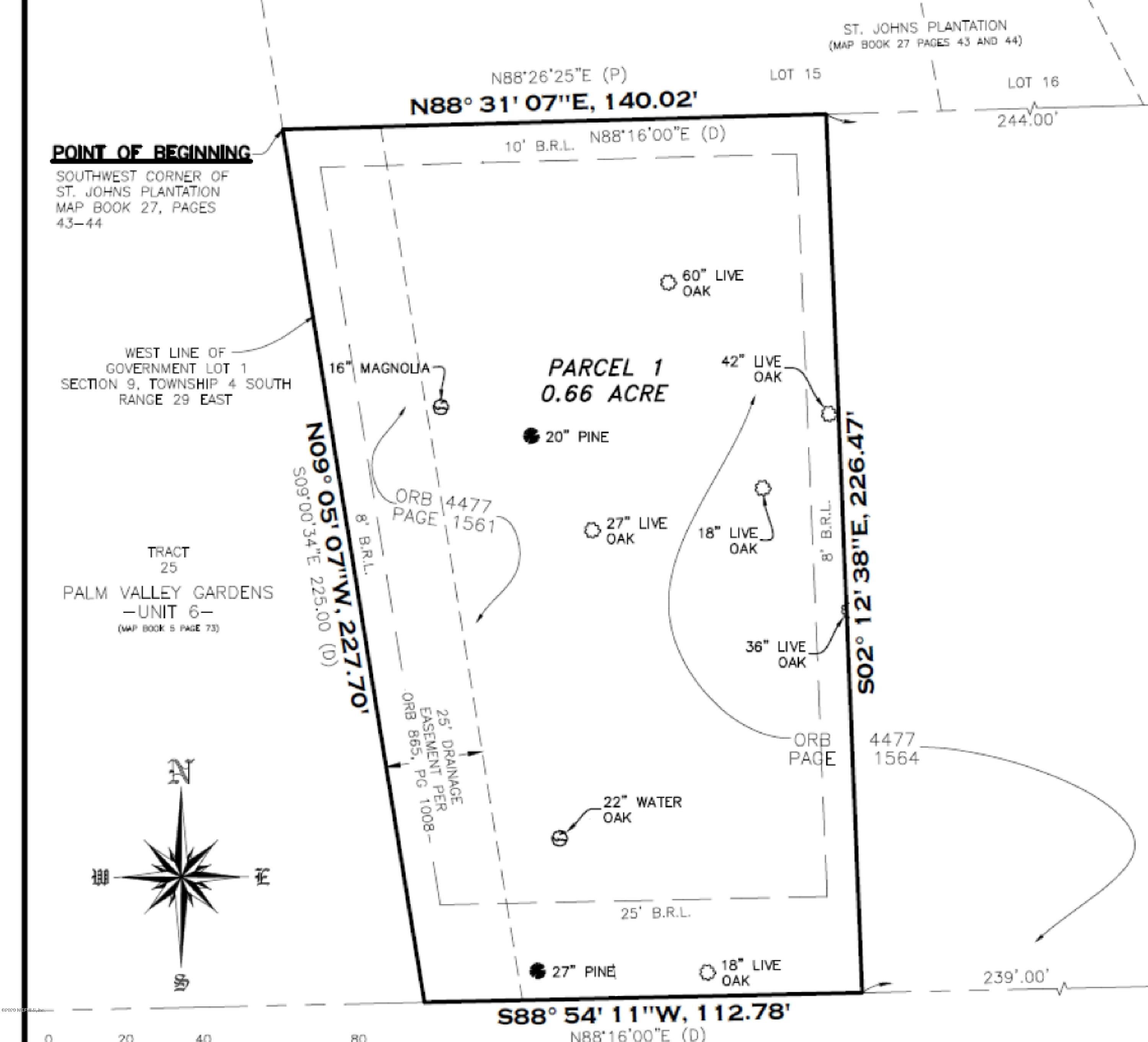 244 CANAL, PONTE VEDRA BEACH, FLORIDA 32082, ,Vacant land,For sale,CANAL,1082322