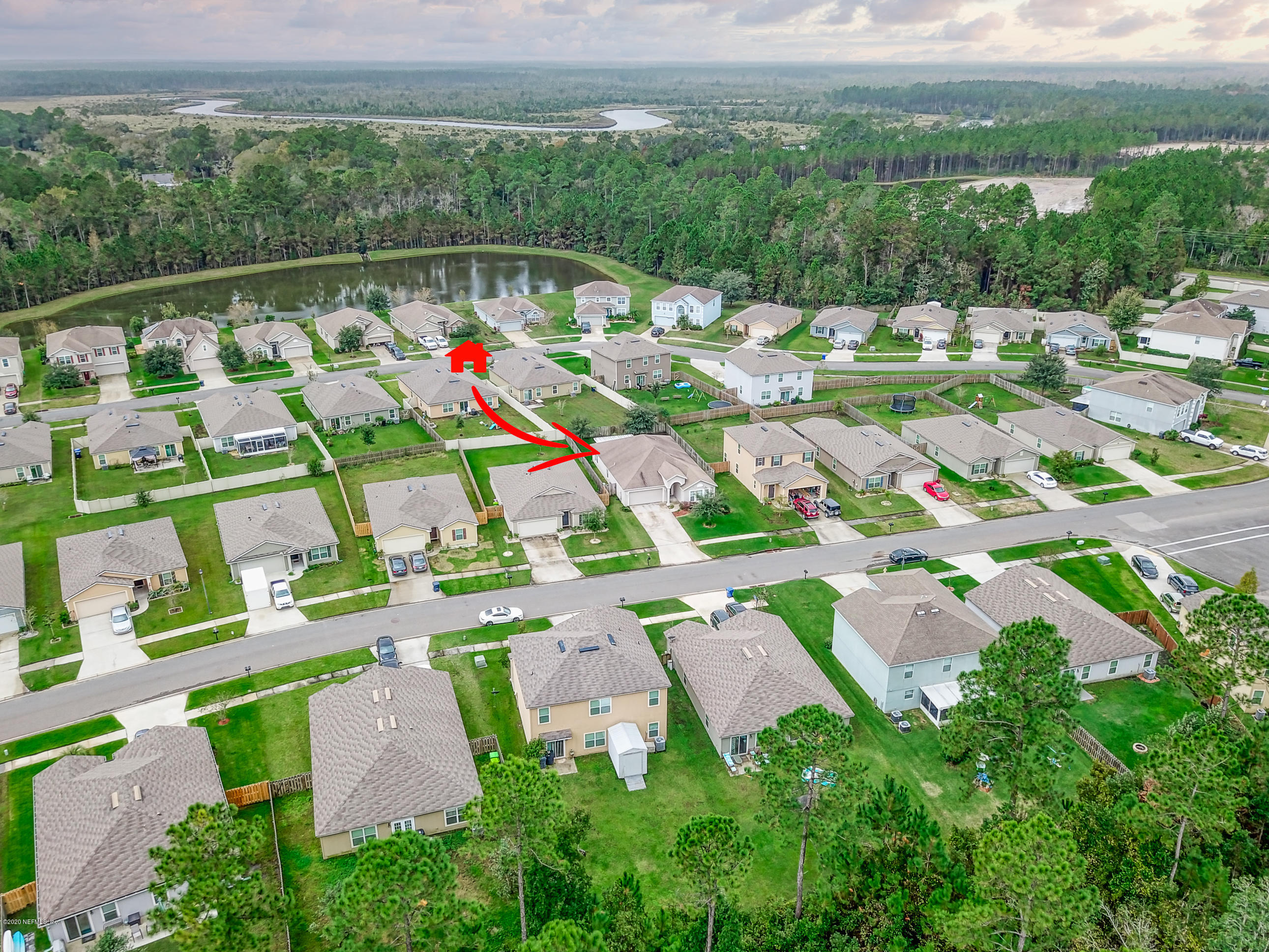 65074 LAGOON FOREST, YULEE, FLORIDA 32097, 4 Bedrooms Bedrooms, ,2 BathroomsBathrooms,Residential,For sale,LAGOON FOREST,1082654