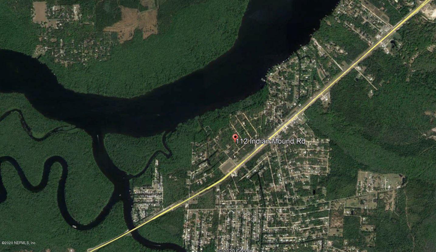 112 INDIAN MOUND, SATSUMA, FLORIDA 32189, ,Vacant land,For sale,INDIAN MOUND,1083065