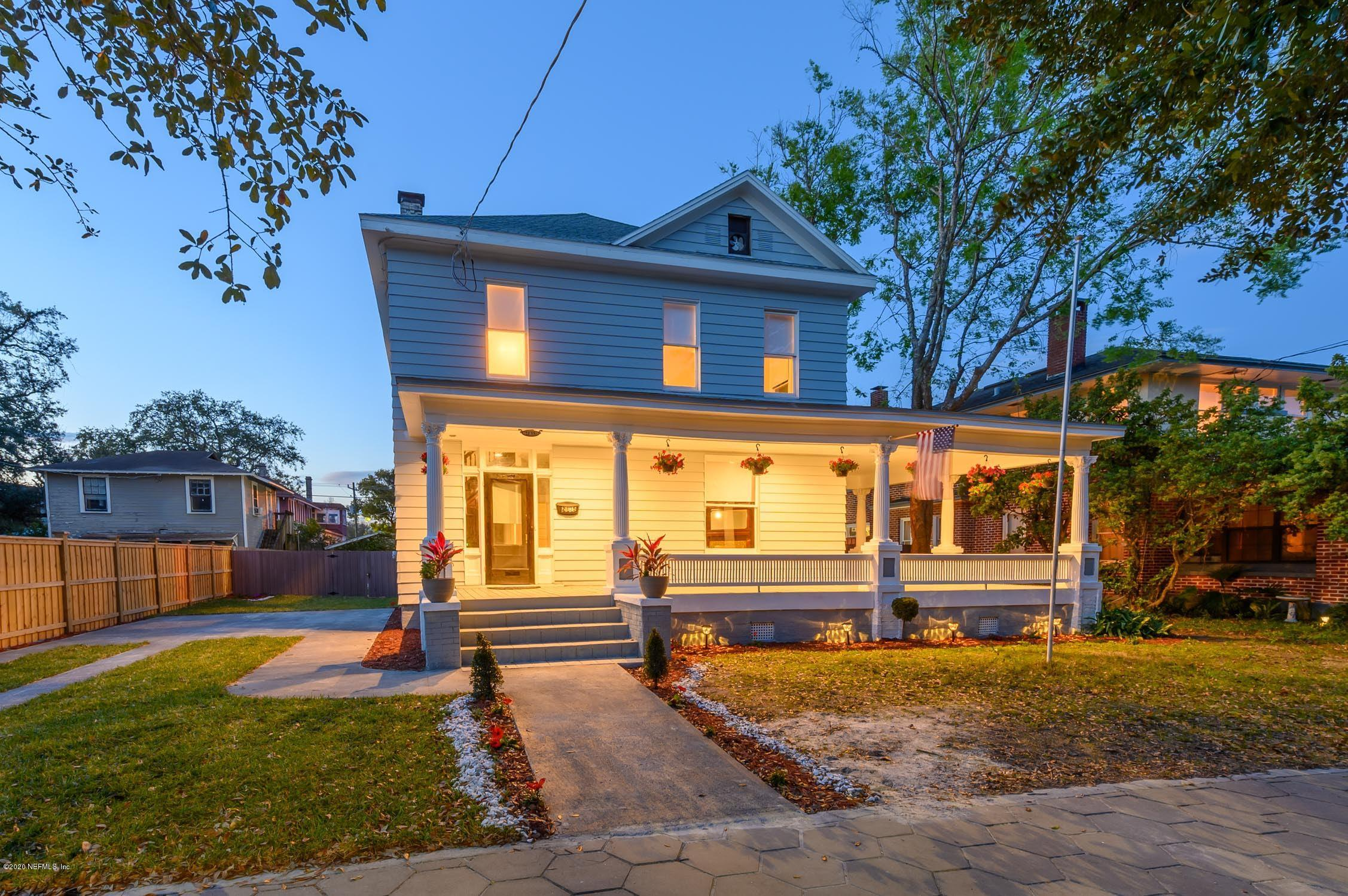 2135 FORBES, JACKSONVILLE, FLORIDA 32204, 4 Bedrooms Bedrooms, ,4 BathroomsBathrooms,Residential,For sale,FORBES,1083216