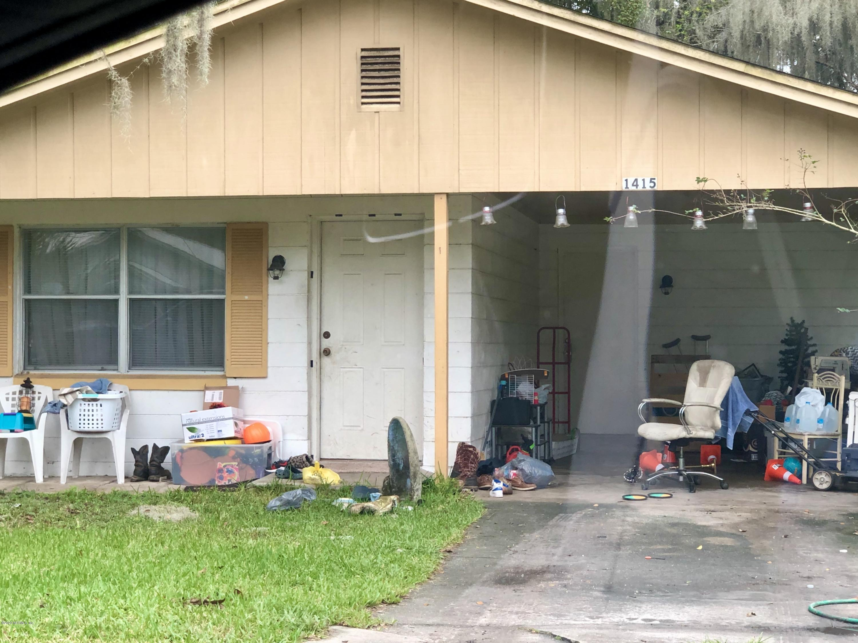1415 CARR, PALATKA, FLORIDA 32177, 3 Bedrooms Bedrooms, ,1 BathroomBathrooms,Residential,For sale,CARR,1083237