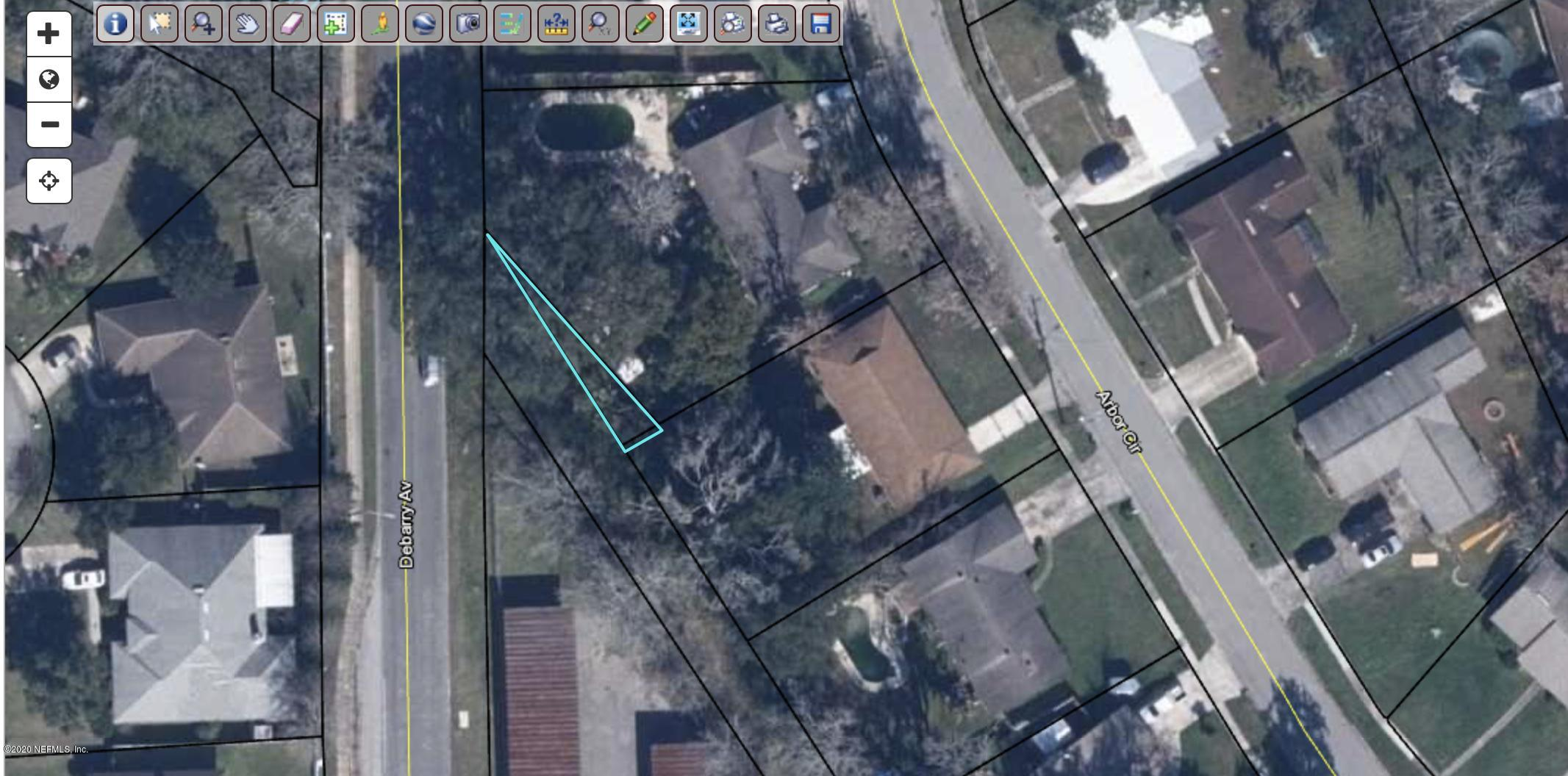 0 DEBARRY, ORANGE PARK, FLORIDA 32073, ,Vacant land,For sale,DEBARRY,1083245