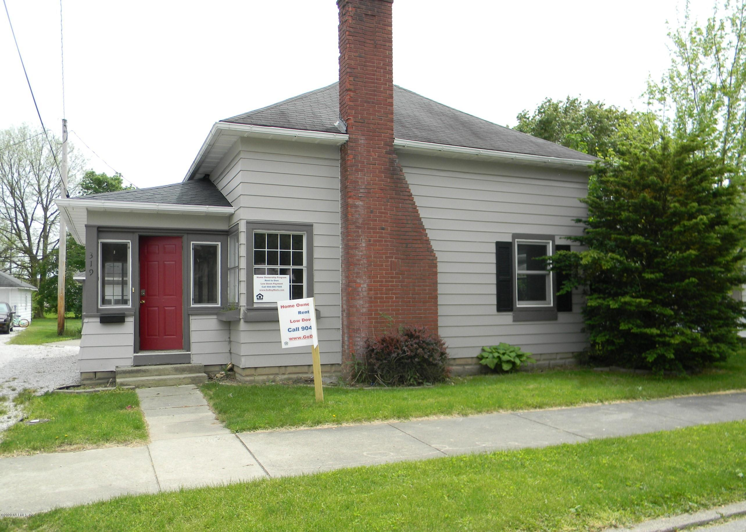319 GRANT, GREENTOWN, INDIANA 46936, 3 Bedrooms Bedrooms, ,1 BathroomBathrooms,Rental,For Rent,GRANT,1083250
