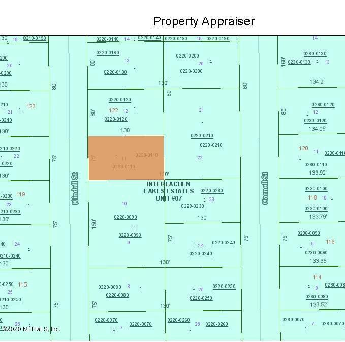 0 KINDALL, INTERLACHEN, FLORIDA 32148, ,Vacant land,For sale,KINDALL,1083256