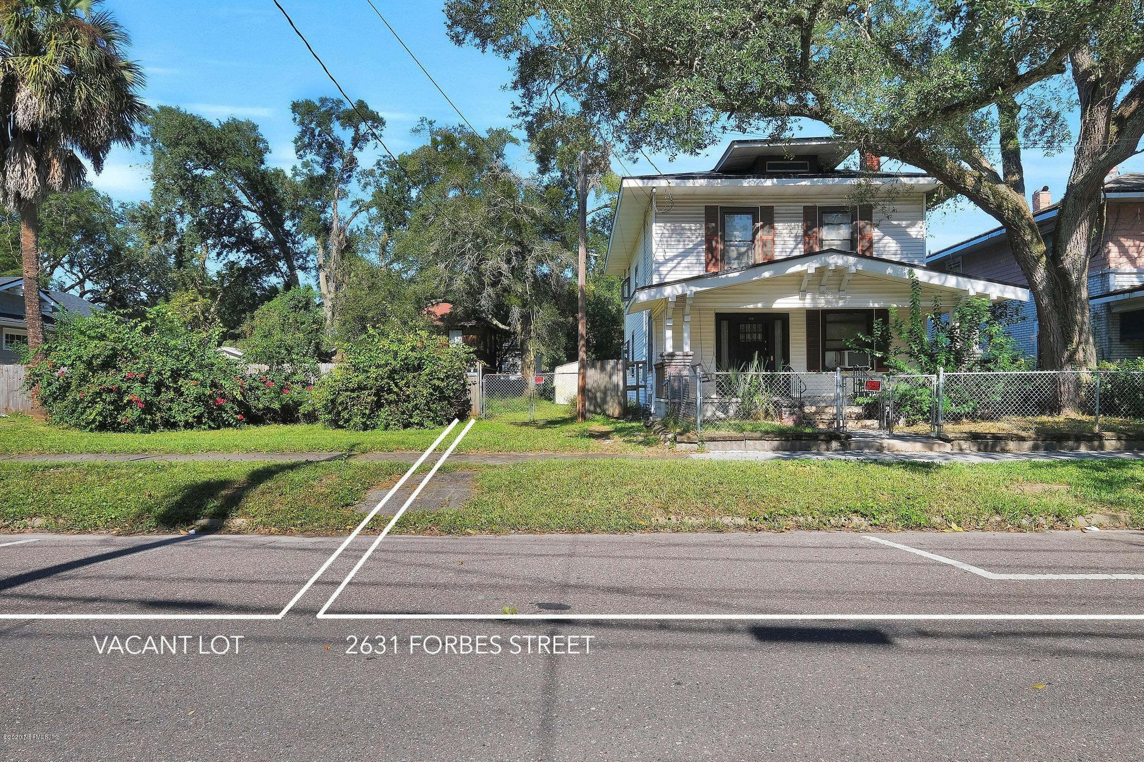 0 FORBES, JACKSONVILLE, FLORIDA 32204, ,Vacant land,For sale,FORBES,1084263