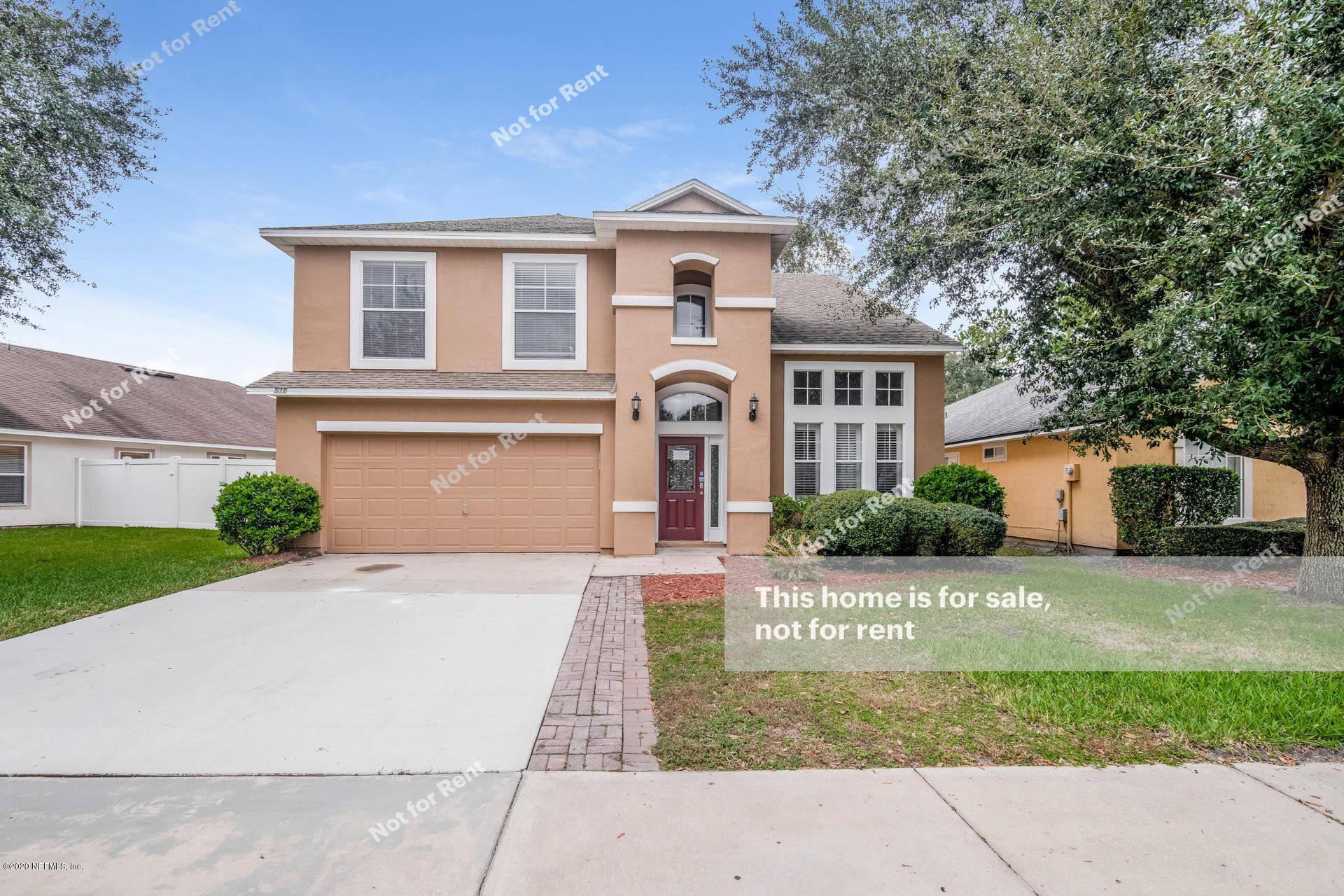 516 MILLSTONE, ORANGE PARK, FLORIDA 32065, 4 Bedrooms Bedrooms, ,3 BathroomsBathrooms,Residential,For sale,MILLSTONE,1088031