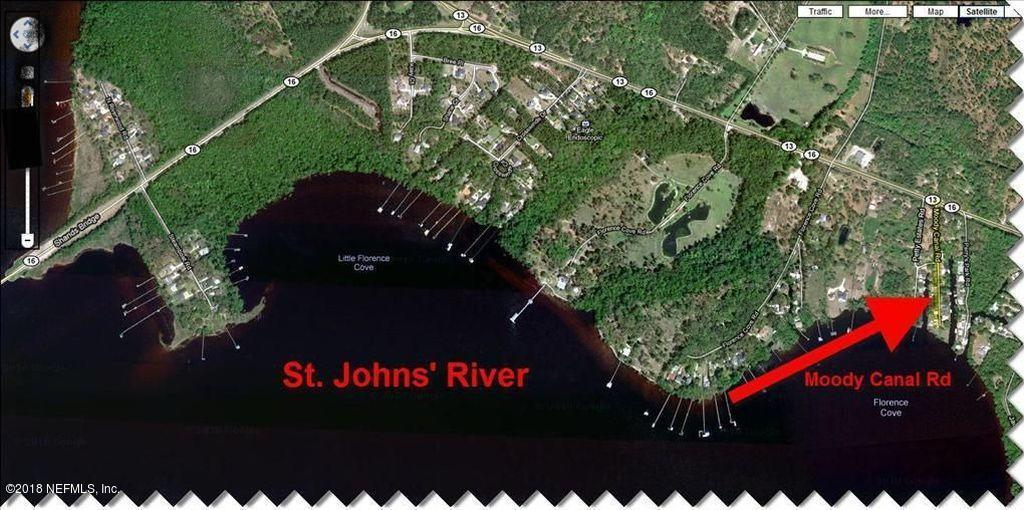 0 MOODY CANAL, ST AUGUSTINE, FLORIDA 32092, ,Vacant land,For sale,MOODY CANAL,1090152