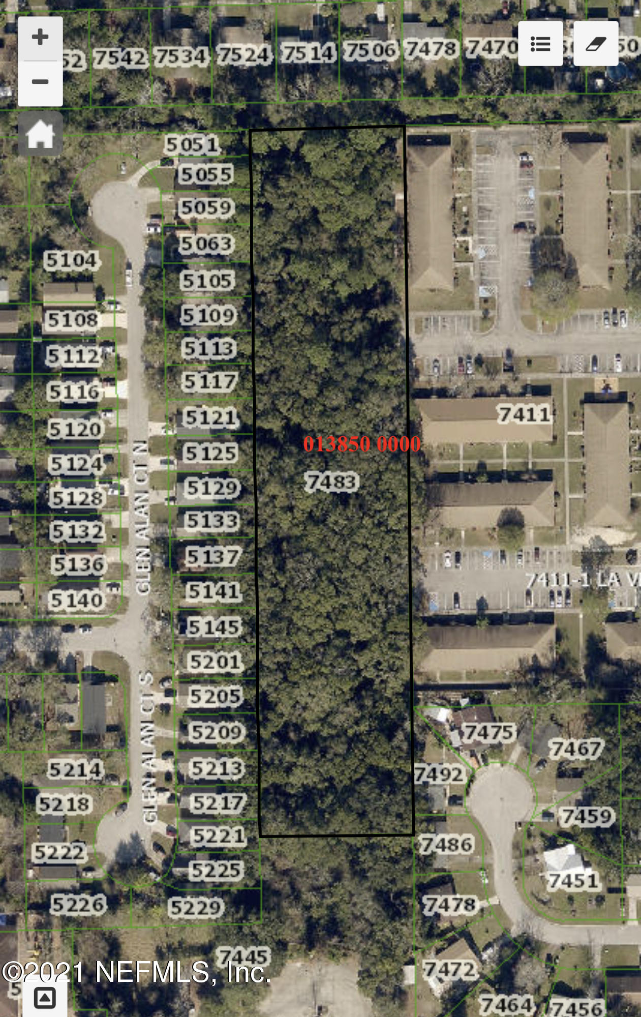 7483 103RD, JACKSONVILLE, FLORIDA 32210, ,Vacant land,For sale,103RD,1090757