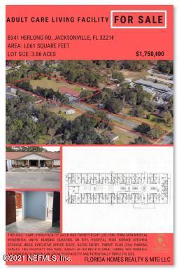 8341 HERLONG, JACKSONVILLE, FLORIDA 32210, ,Commercial,For sale,HERLONG,1096037