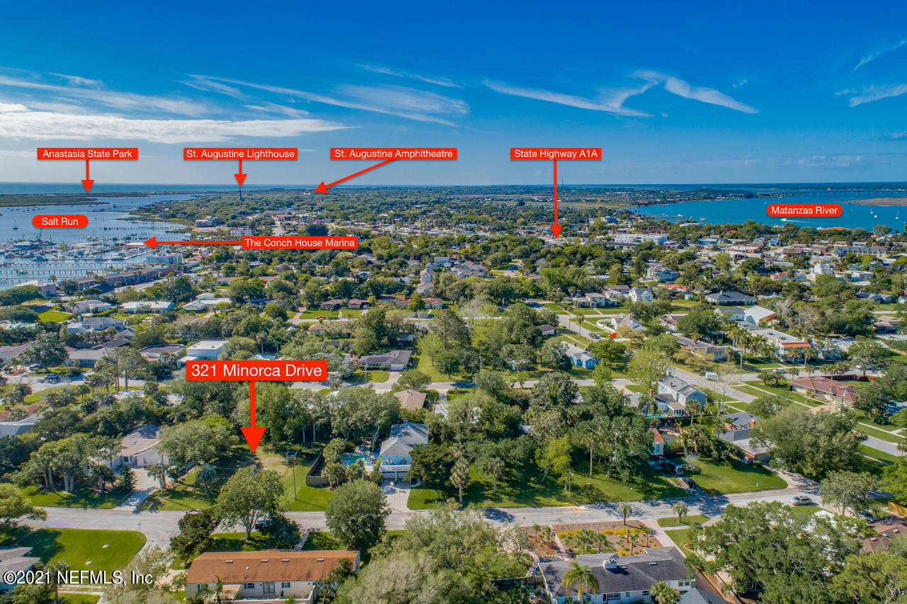 321 MINORCA, ST AUGUSTINE, FLORIDA 32080, ,Vacant land,For sale,MINORCA,1096203