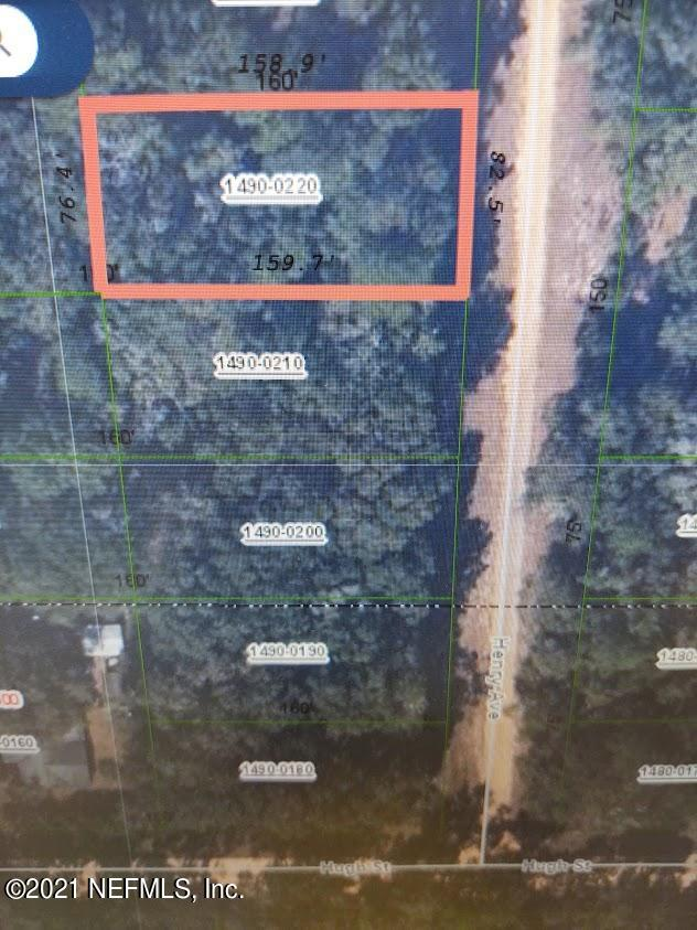 109 HENRY, INTERLACHEN, FLORIDA 32148, ,Vacant land,For sale,HENRY,1095458