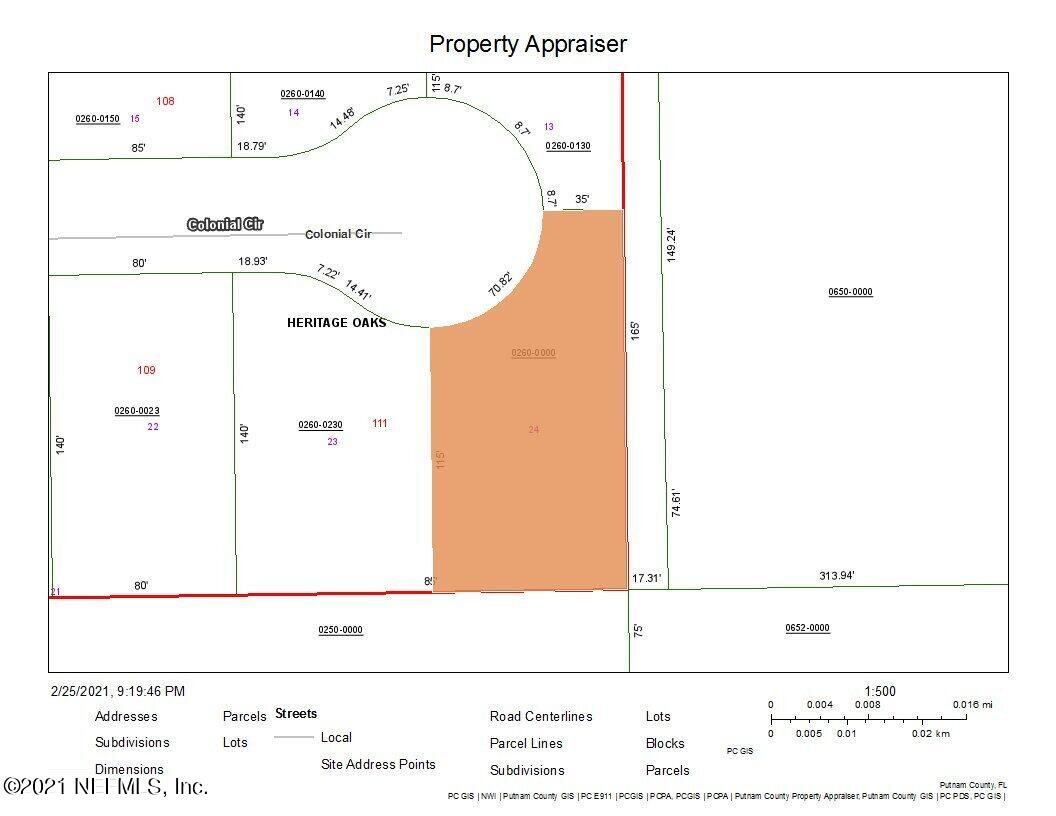 000 COLONIAL, PALATKA, FLORIDA 32177, ,Vacant land,For sale,COLONIAL,1096741
