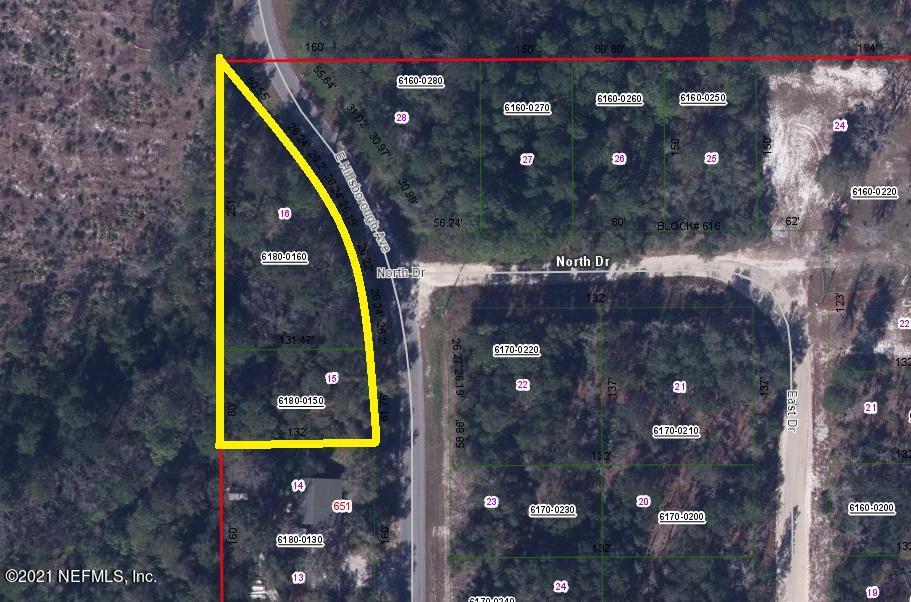 649 HILLSBOROUGH, FLORAHOME, FLORIDA 32140, ,Vacant land,For sale,HILLSBOROUGH,1098146
