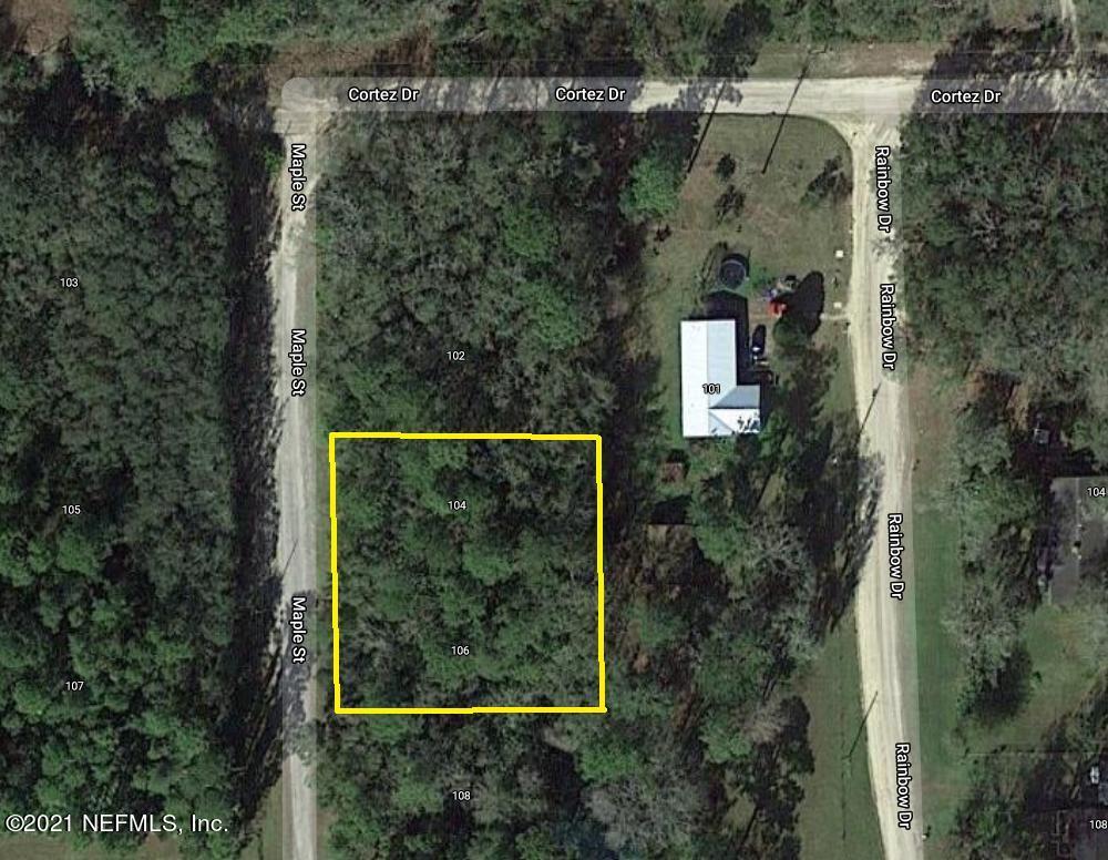 104 MAPLE, FLORAHOME, FLORIDA 32140, ,Vacant land,For sale,MAPLE,1098176