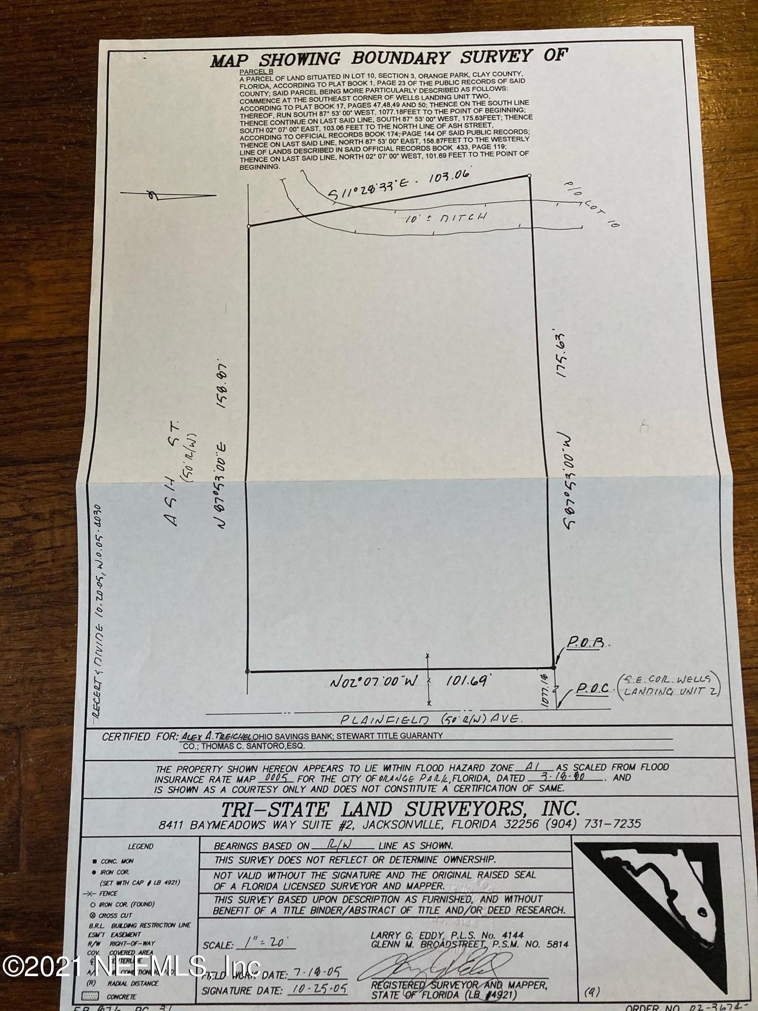 0 ASH, ORANGE PARK, FLORIDA 32073, ,Vacant land,For sale,ASH,1076024