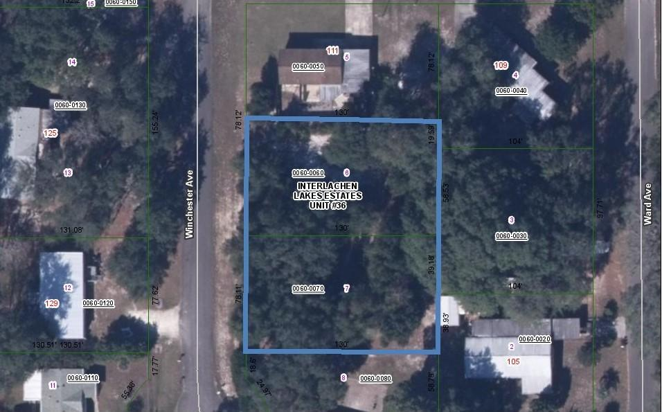 0 WINCHESTER, INTERLACHEN, FLORIDA 32148, ,Vacant land,For sale,WINCHESTER,1104855