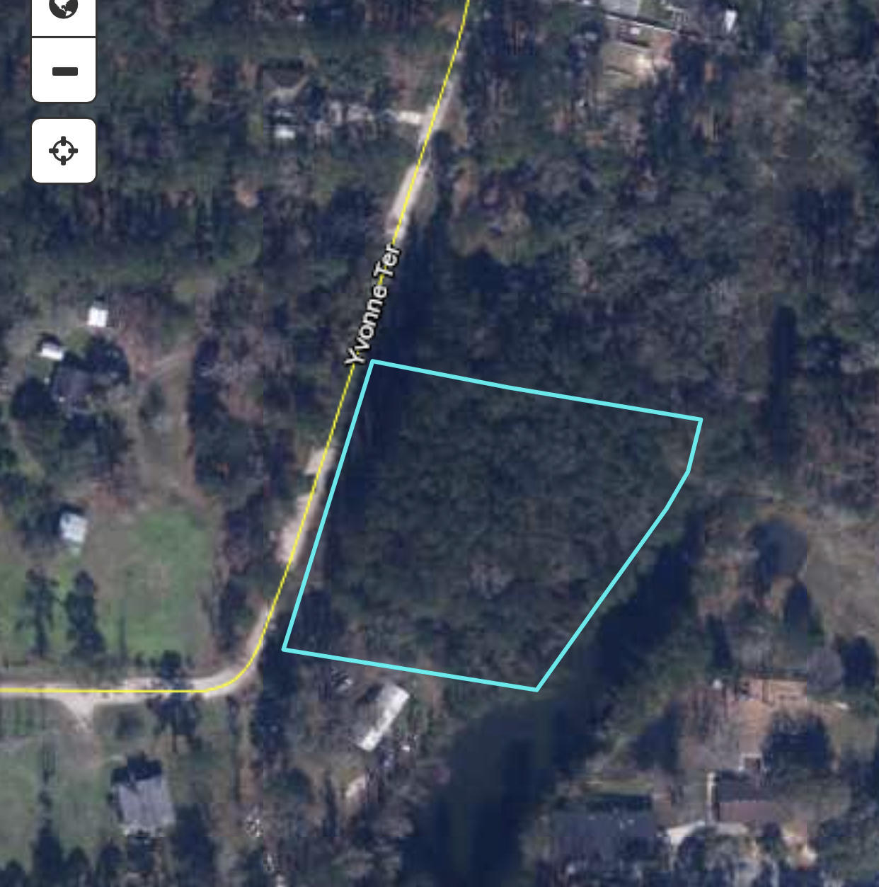 0 YVONNE, MIDDLEBURG, FLORIDA 32068, ,Vacant land,For sale,YVONNE,1107066